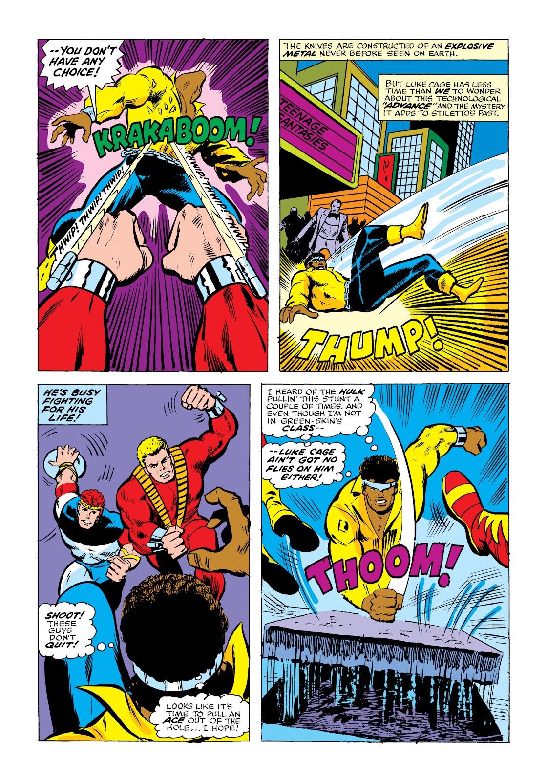 Read online Marvel Masterworks: Luke Cage, Power Man comic -  Issue # TPB 2 (Part 2) - 18