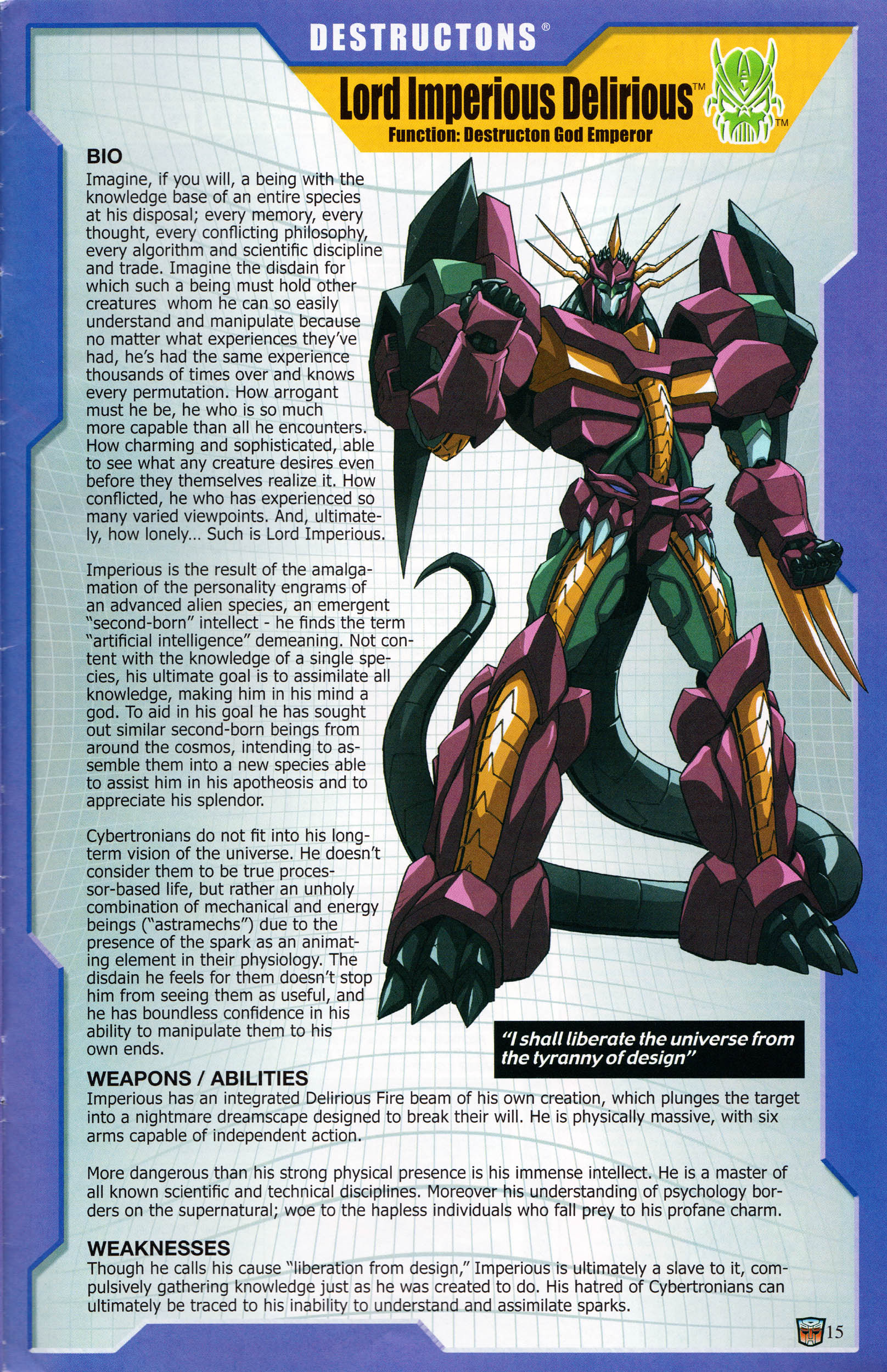 Read online Transformers: Collectors' Club comic -  Issue #59 - 15