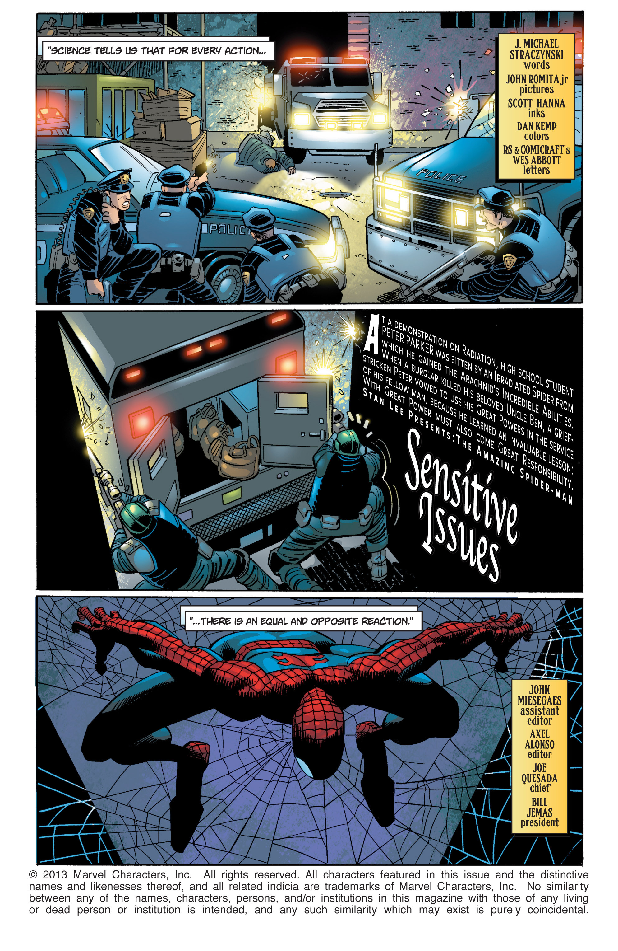 The Amazing Spider-Man (1999) 40 Page 1