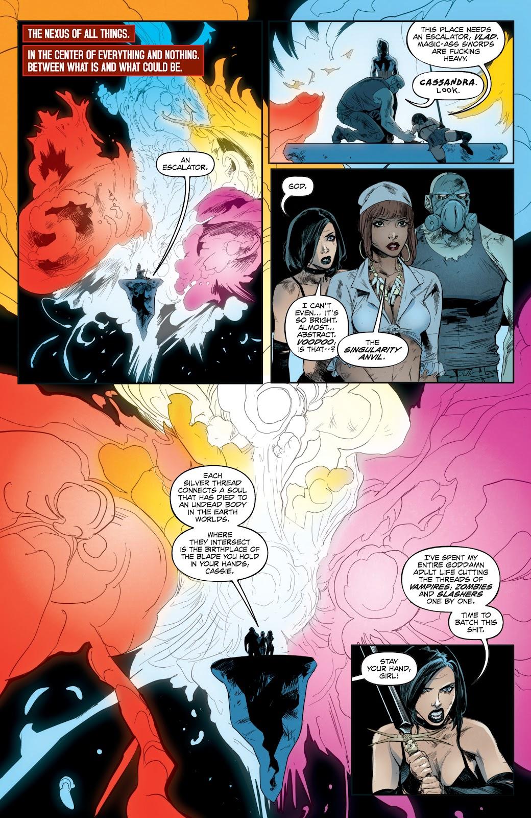 Read online Hack/Slash vs. Chaos comic -  Issue #4 - 5