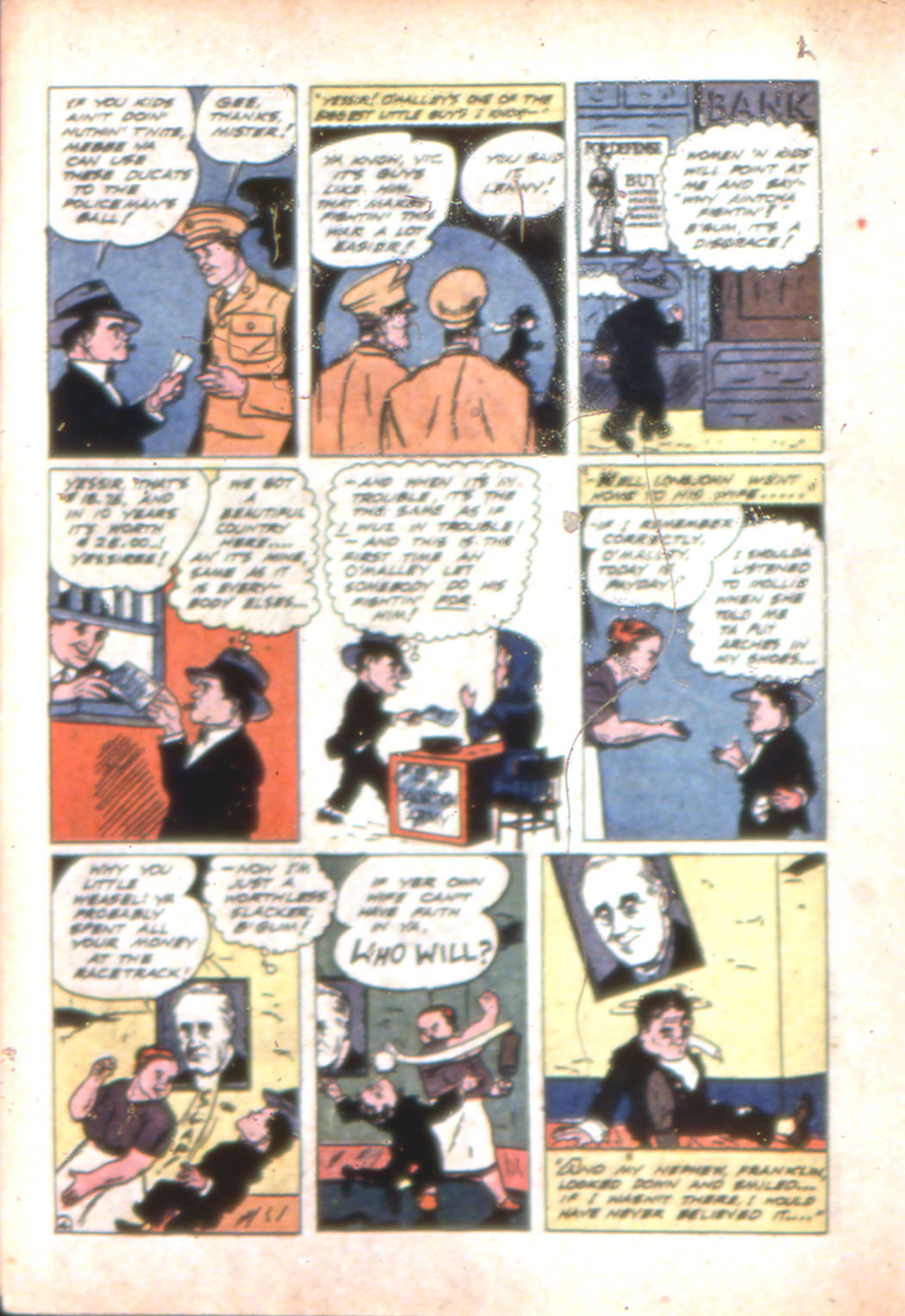 Read online Sensation (Mystery) Comics comic -  Issue #7 - 36