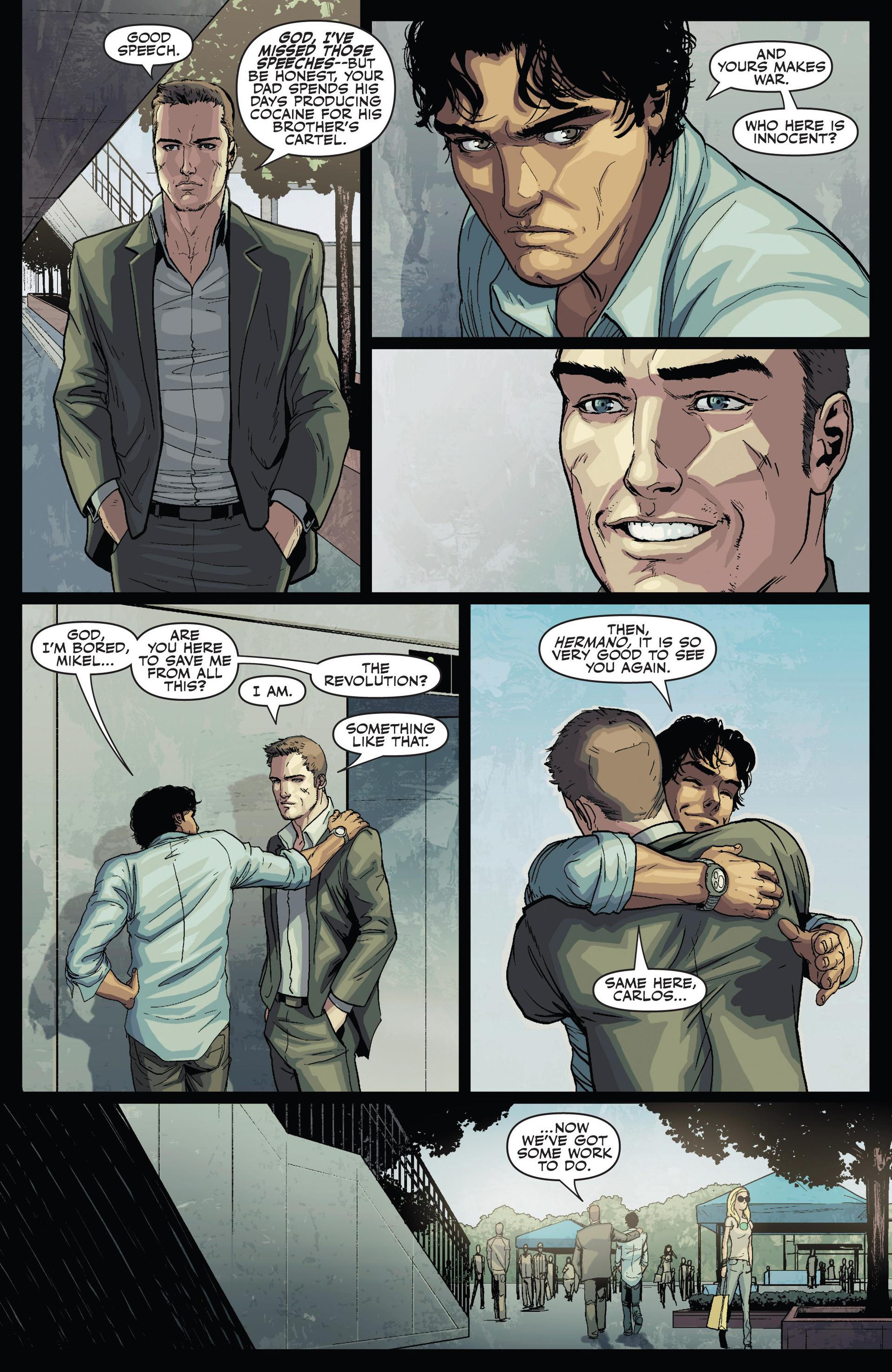 Read online Secret Warriors comic -  Issue #24 - 8