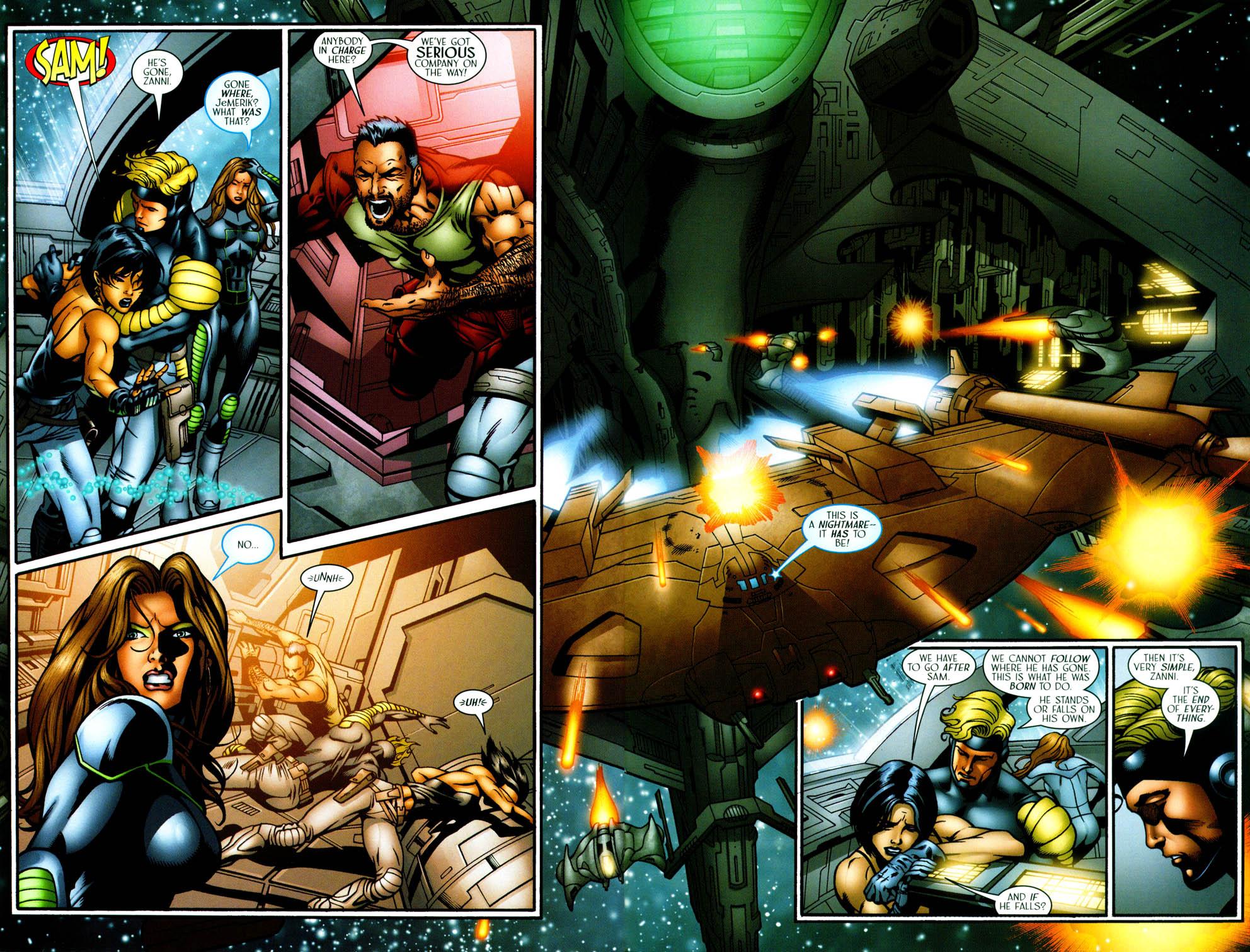Read online Sigil (2000) comic -  Issue #36 - 21