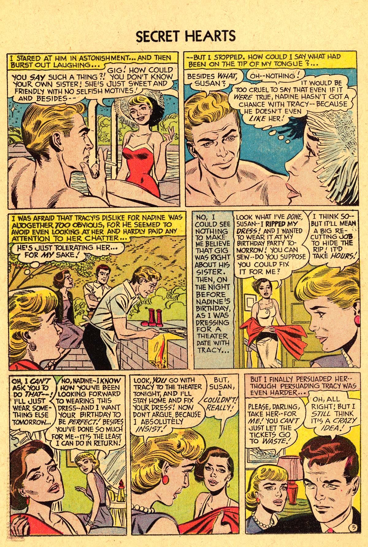Read online Secret Hearts comic -  Issue #40 - 22