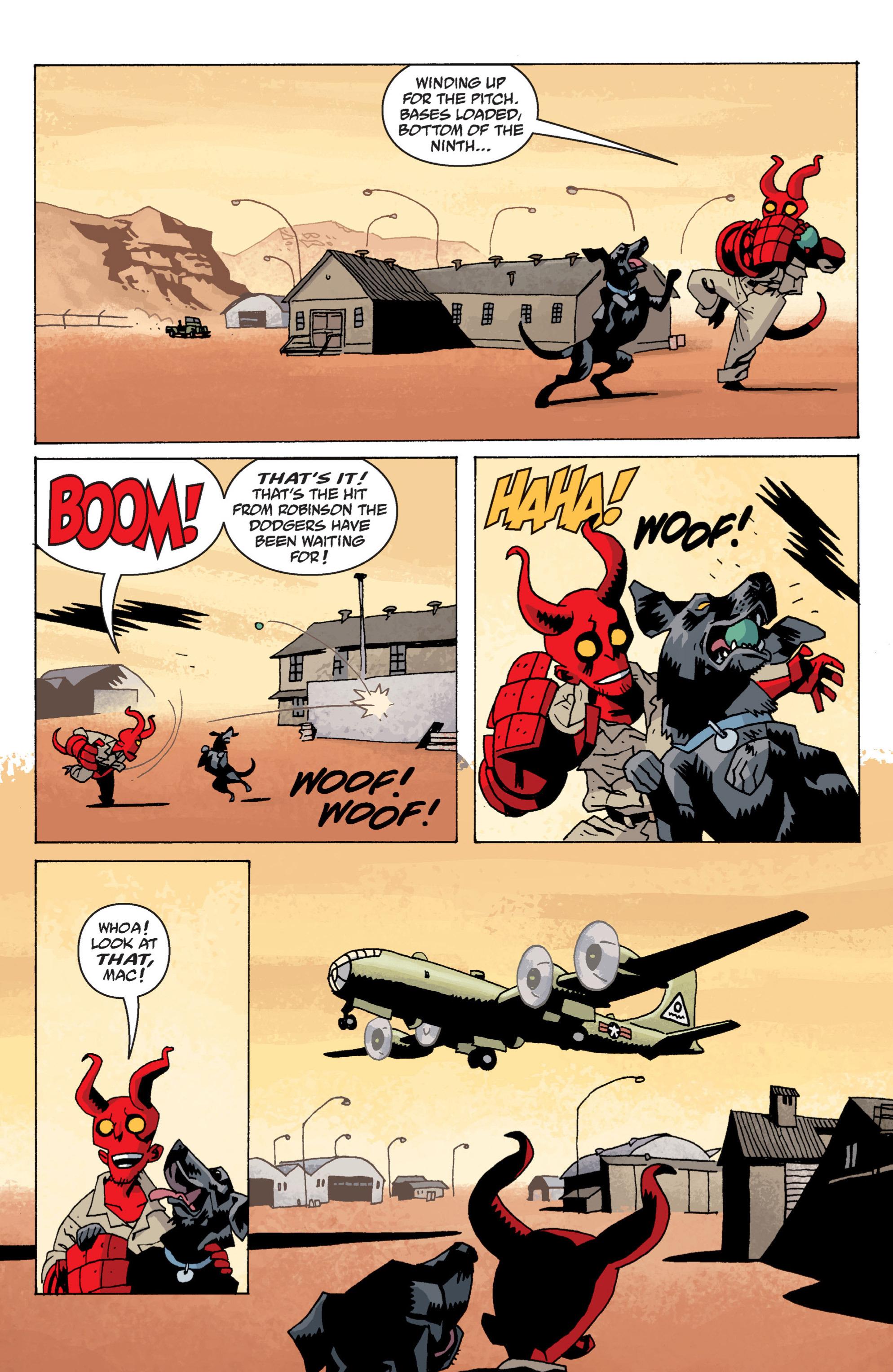 Read online B.P.R.D. (2003) comic -  Issue # TPB 13 - 108