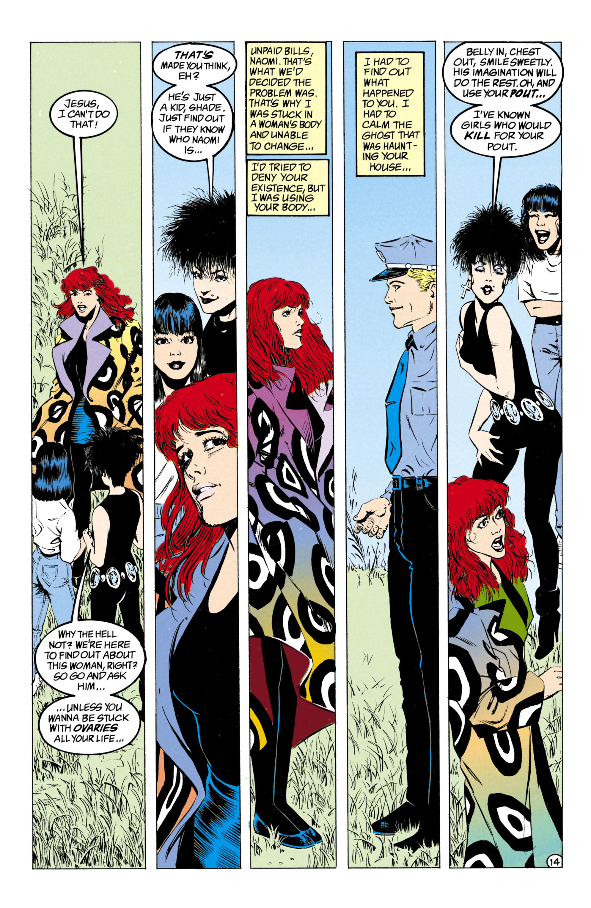 Read online Shade, the Changing Man comic -  Issue #27 - 15