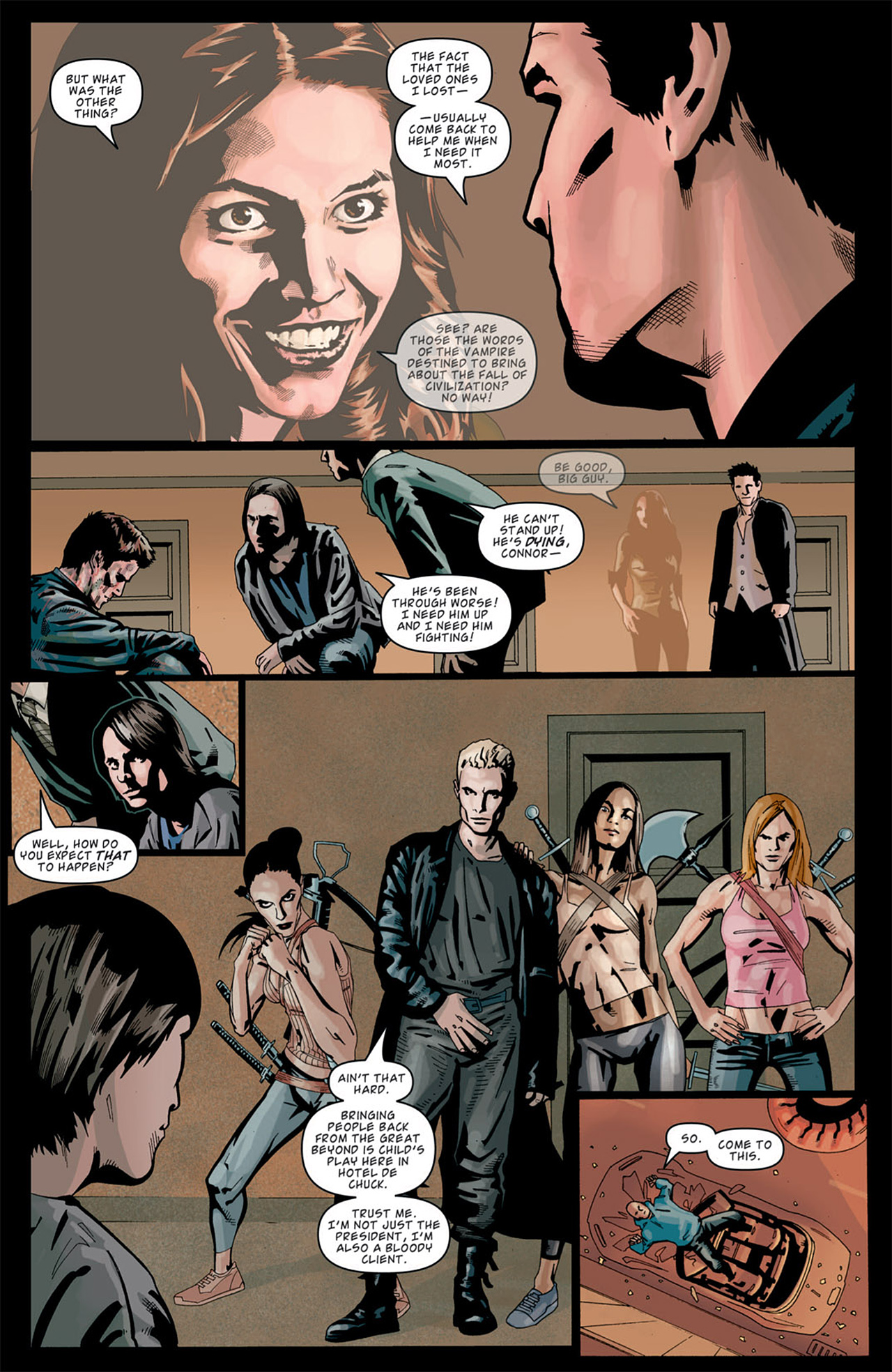 Read online Angel: After The Fall comic -  Issue #13 - 20