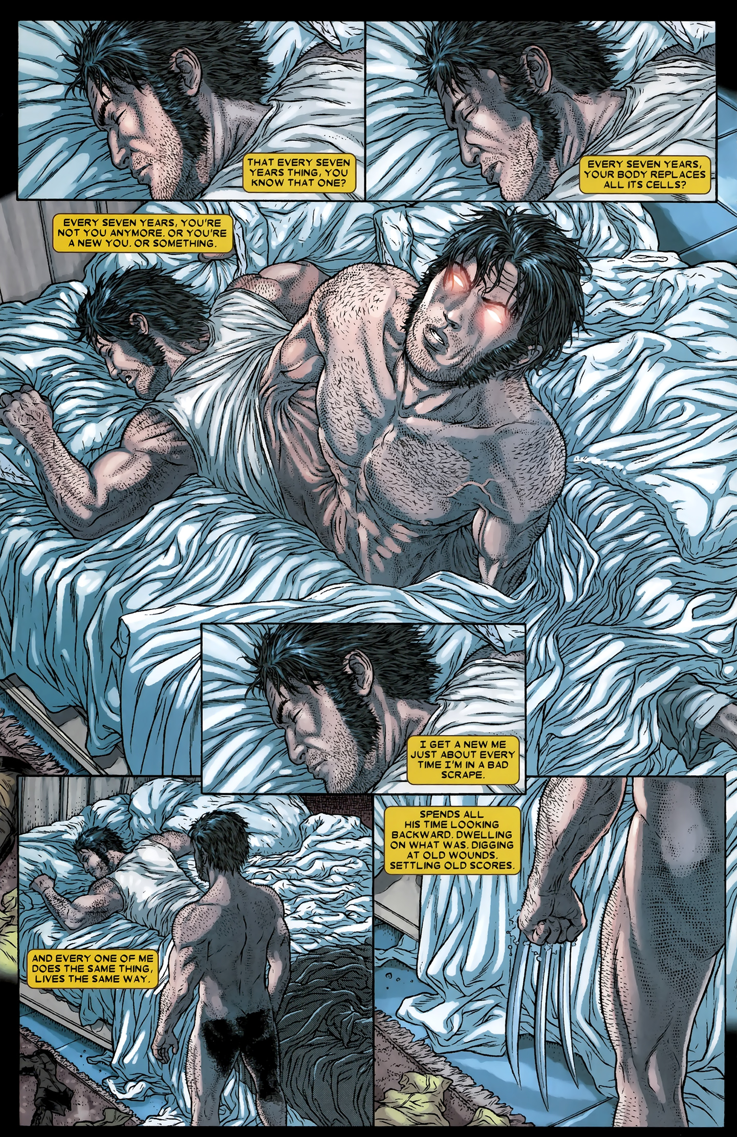 Read online Wolverine: The Best There Is comic -  Issue #12 - 23