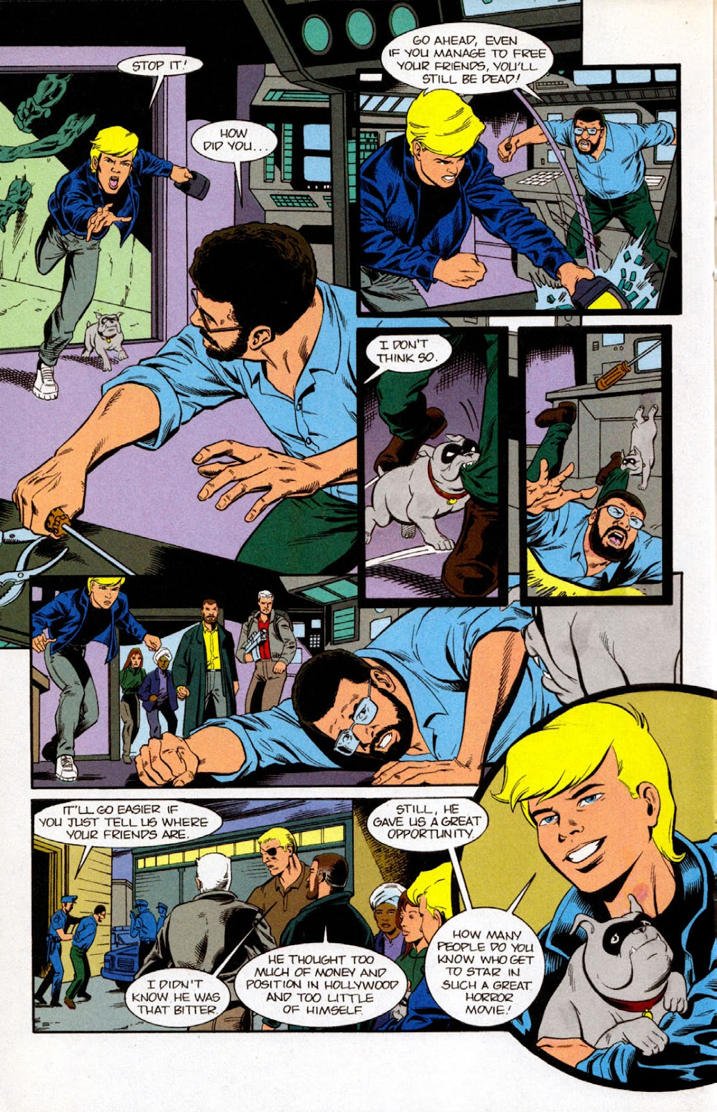 Read online The Real Adventures of Jonny Quest comic -  Issue #7 - 20