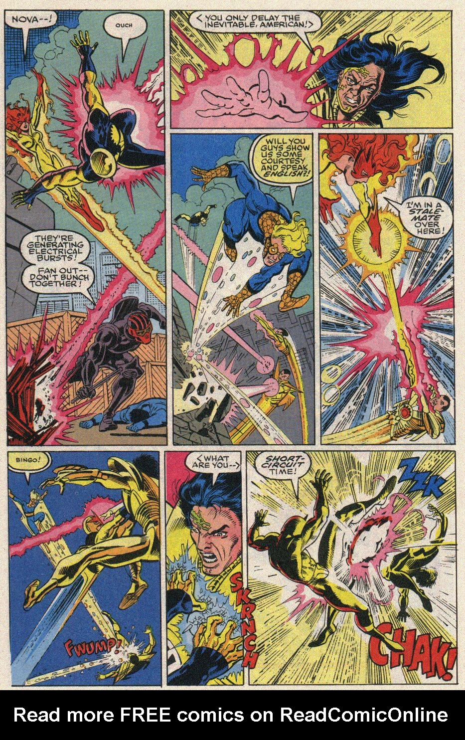 The New Warriors Issue #20 #24 - English 15