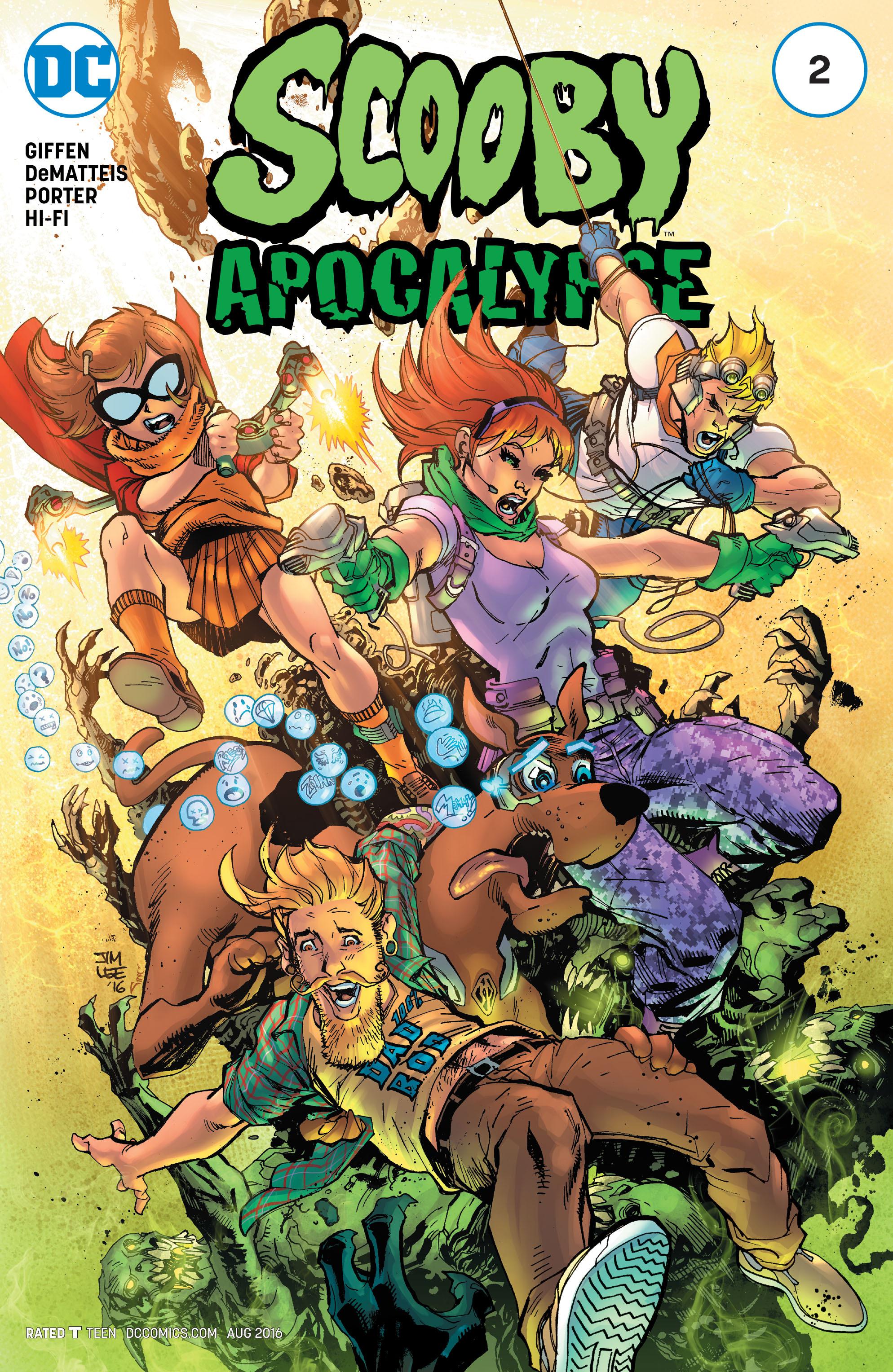 Read online Scooby Apocalypse comic -  Issue #2 - 1