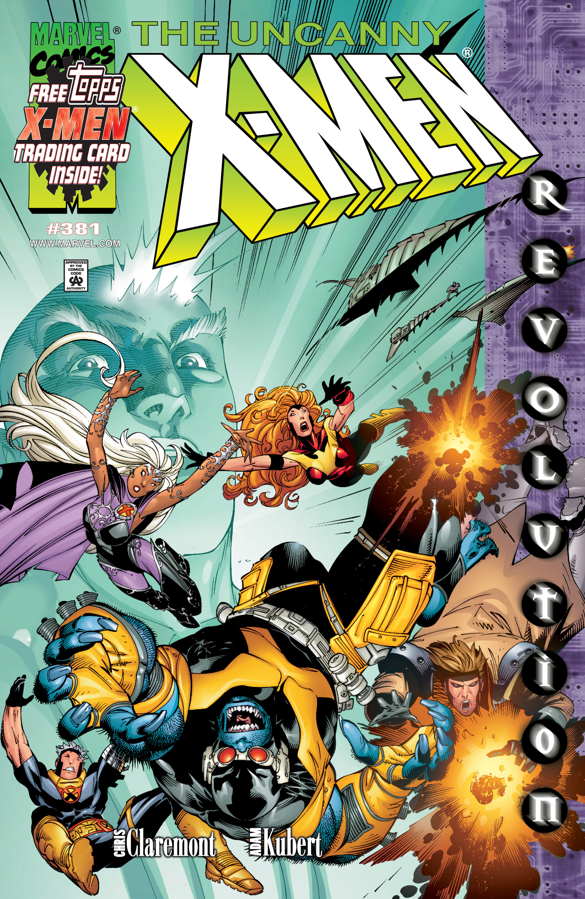 Uncanny X-Men (1963) 381 Page 1