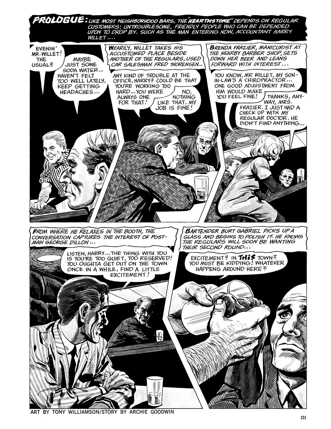 Read online Eerie Archives comic -  Issue # TPB 3 - 232