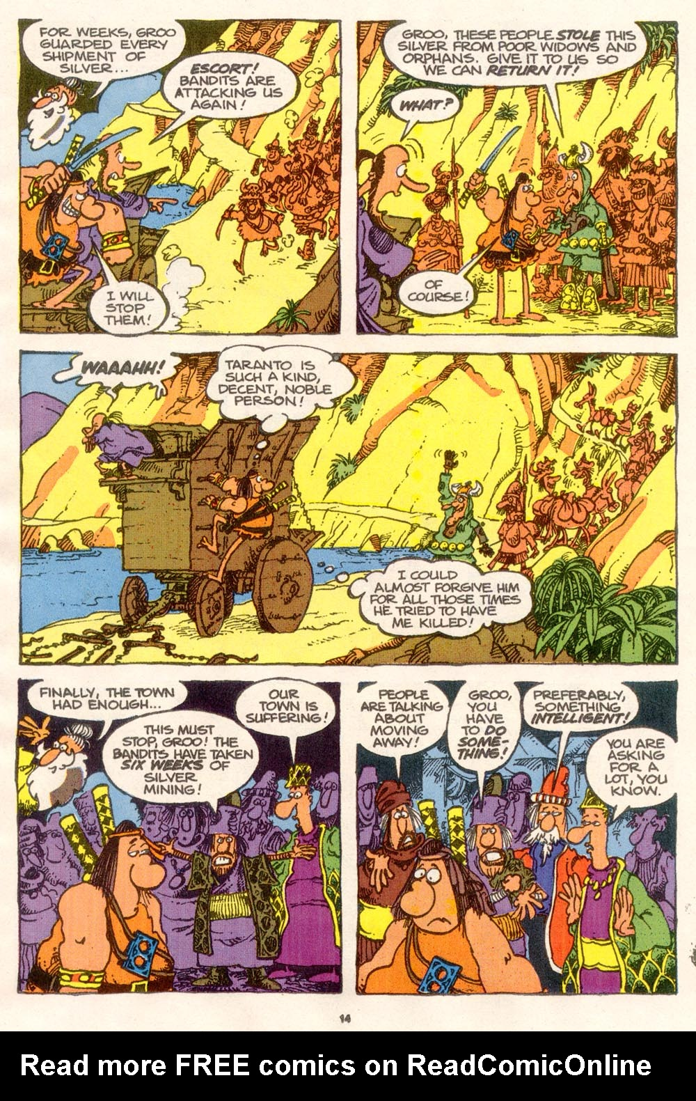 Read online Sergio Aragonés Groo the Wanderer comic -  Issue #76 - 10