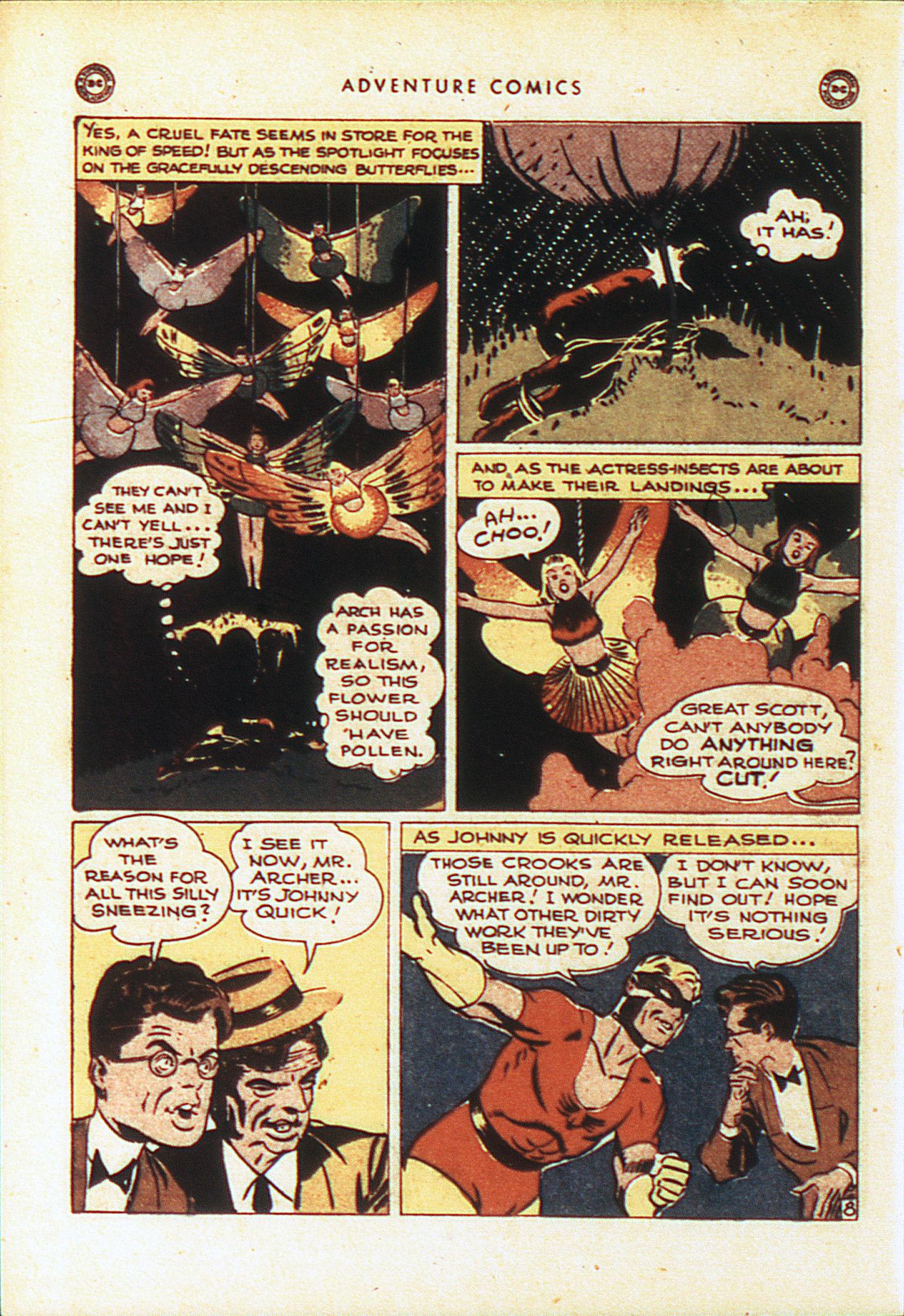 Read online Adventure Comics (1938) comic -  Issue #104 - 19