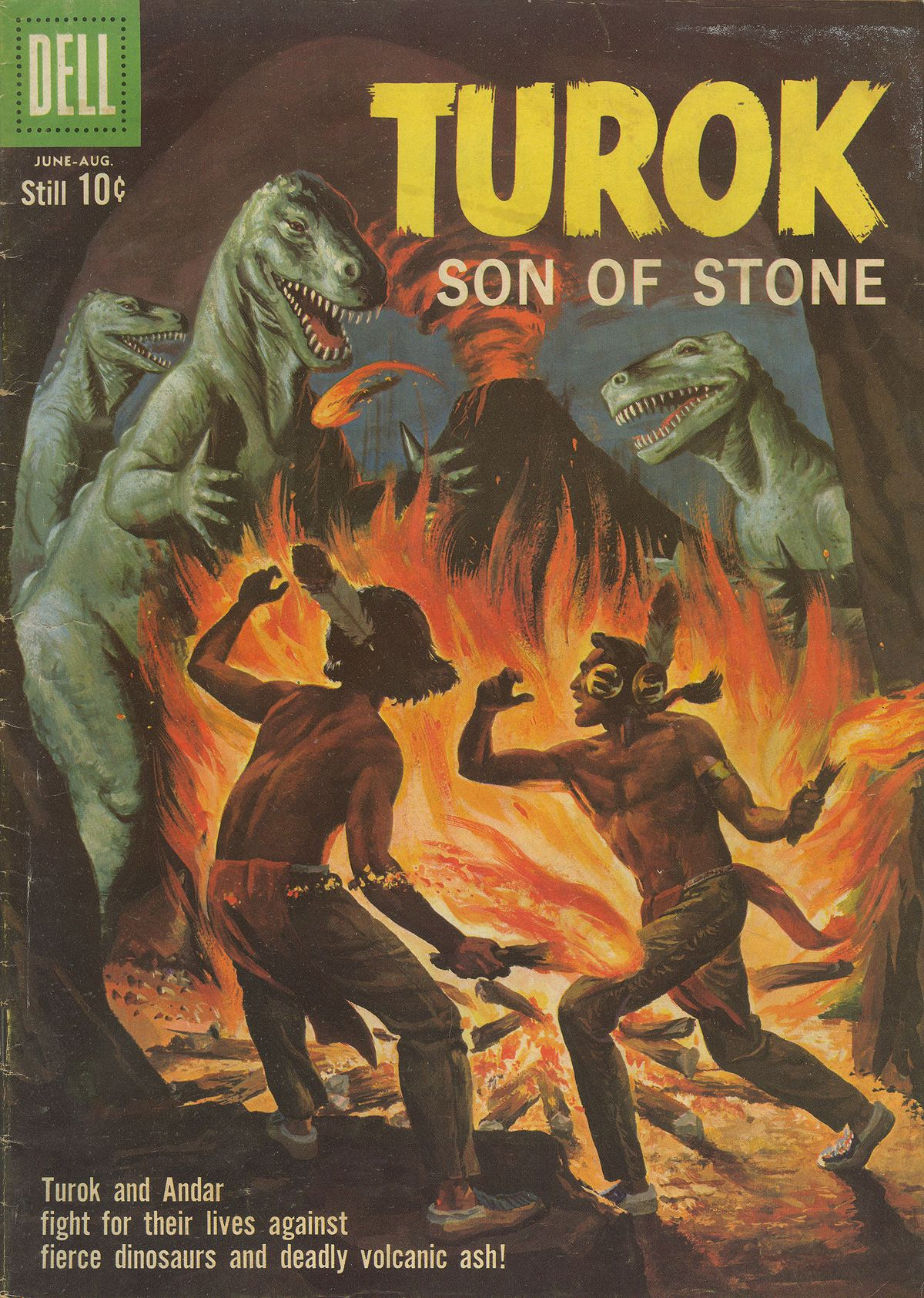 Read online Turok, Son of Stone comic -  Issue #20 - 1