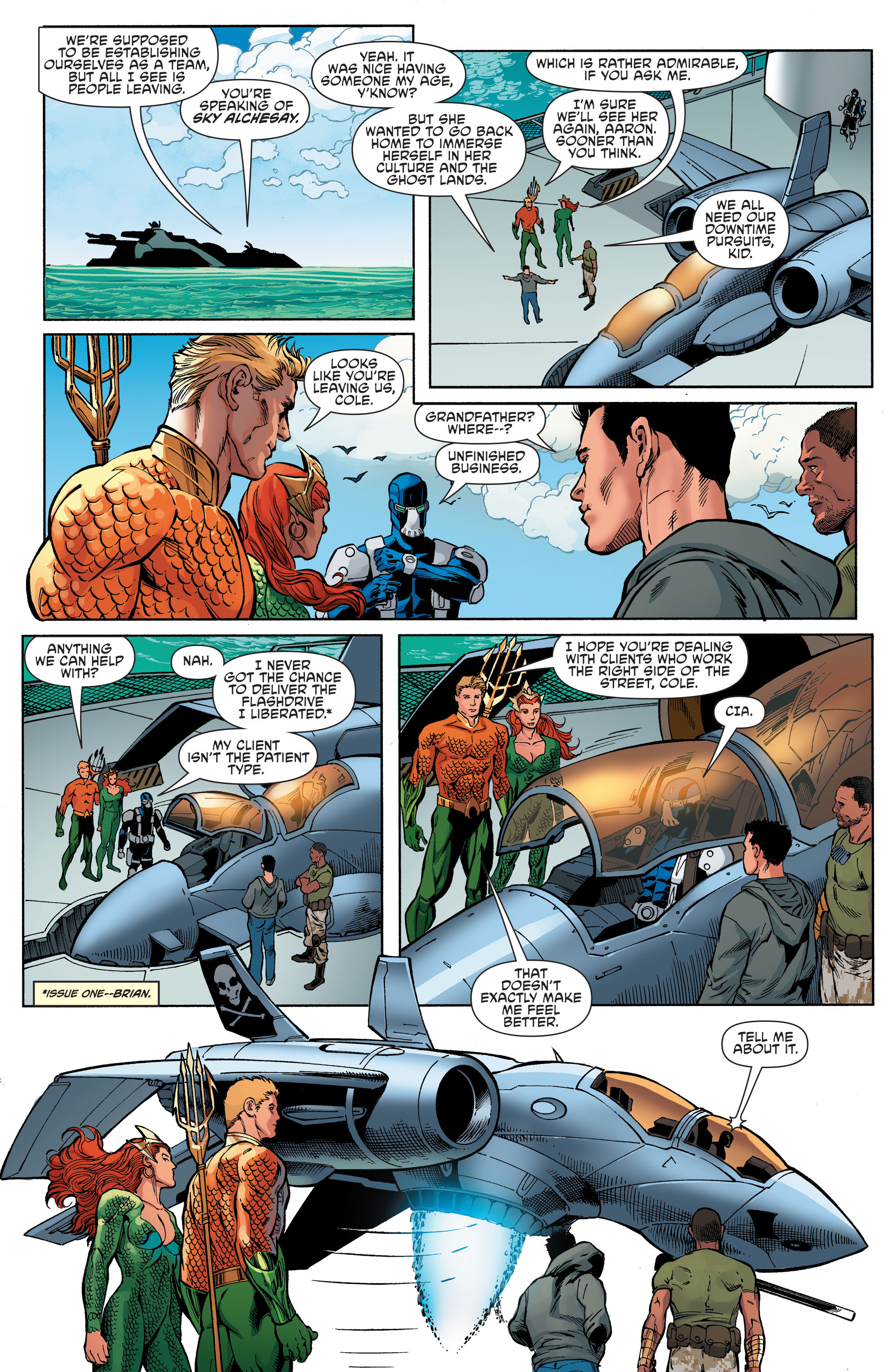 Read online Aquaman and the Others comic -  Issue #6 - 10