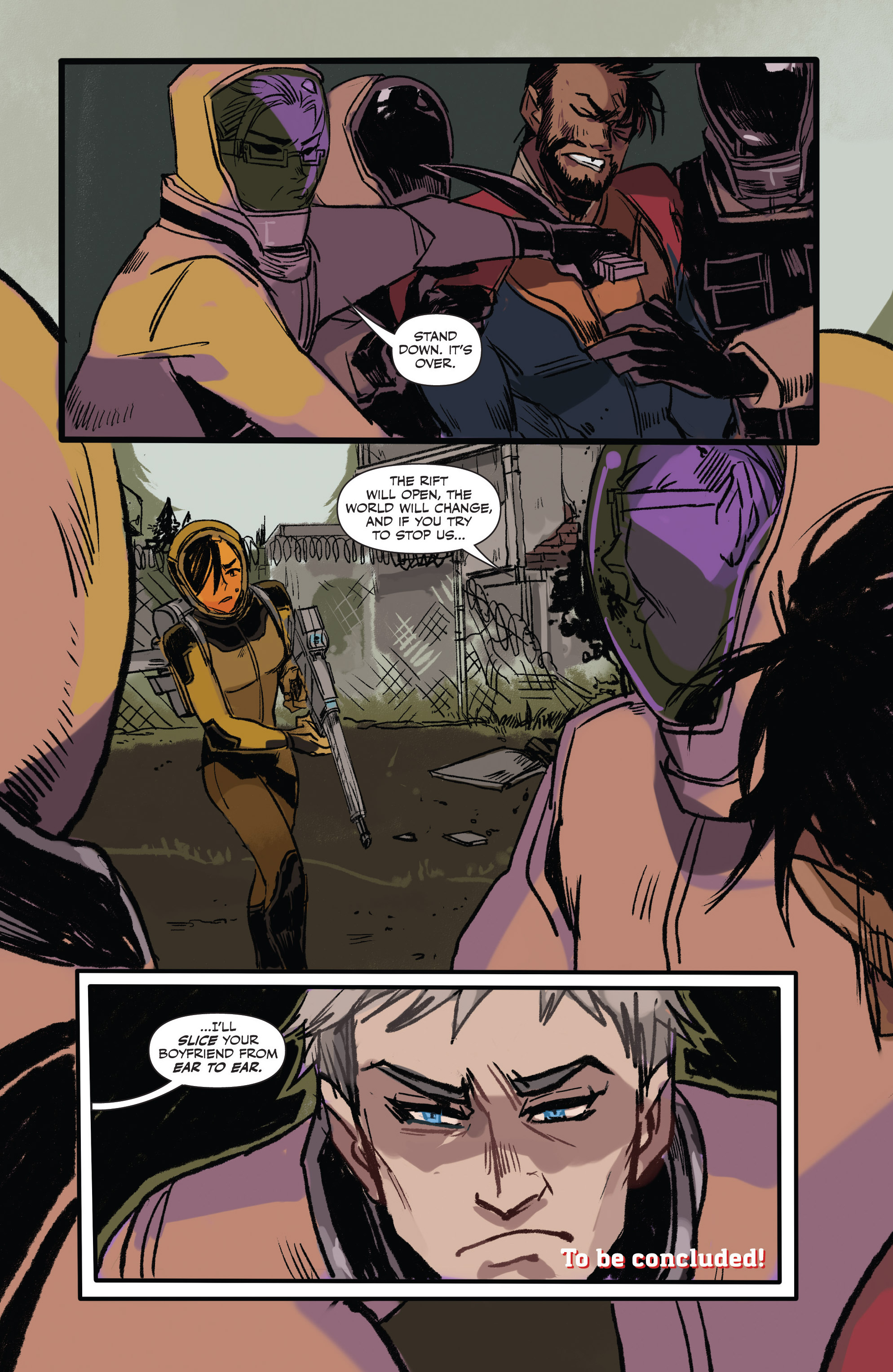 Read online Freelance comic -  Issue #3 - 22