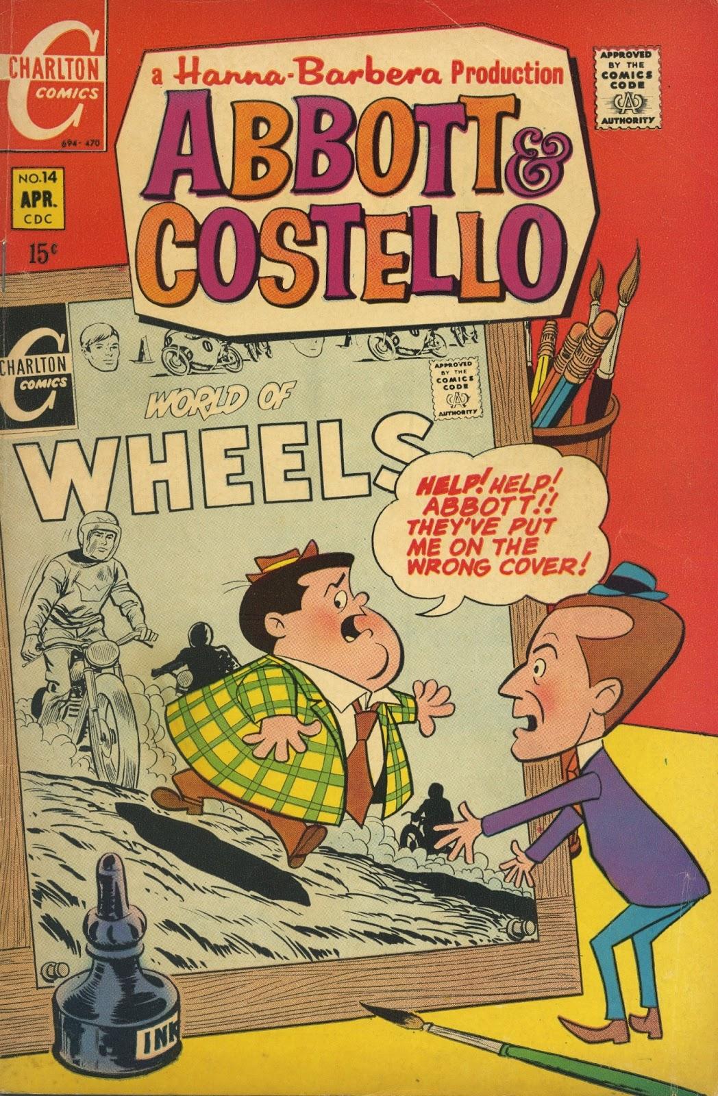 Abbott & Costello issue 14 - Page 1