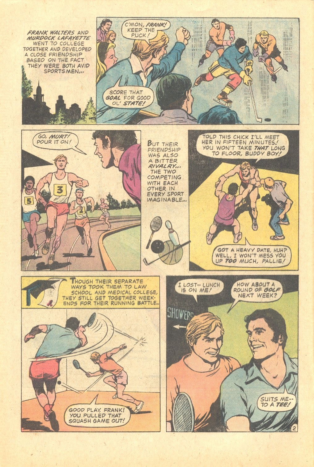 Read online Strange Sports Stories (1973) comic -  Issue #6 - 3