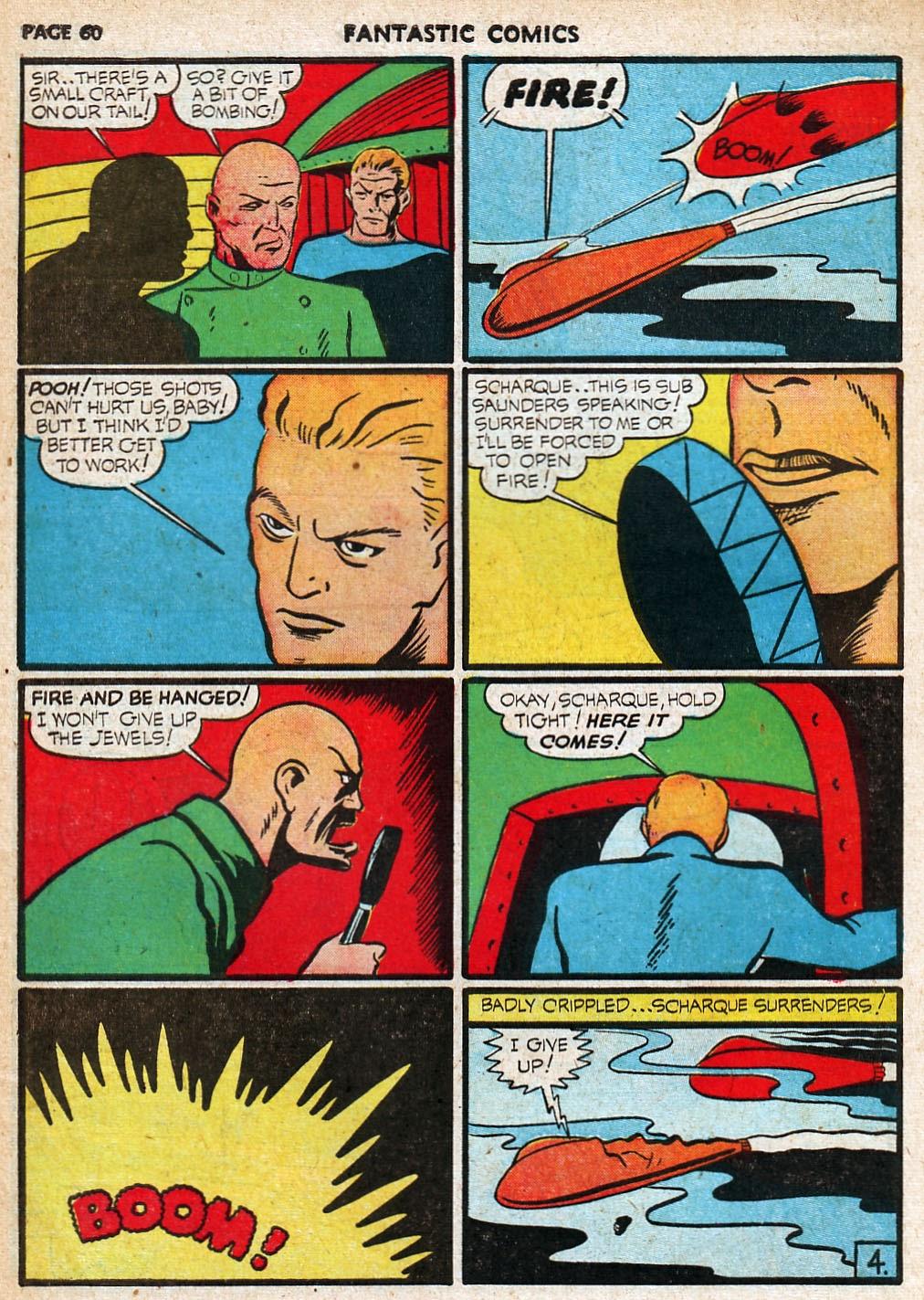 Read online Fantastic Comics comic -  Issue #20 - 60