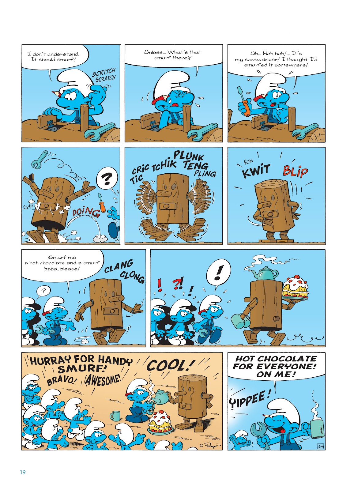 Read online The Smurfs comic -  Issue #23 - 19