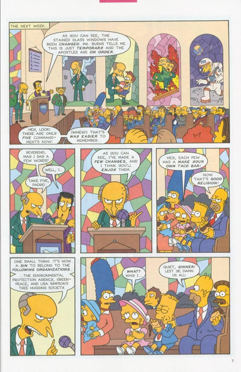 Read online Simpsons Comics comic -  Issue #69 - 6