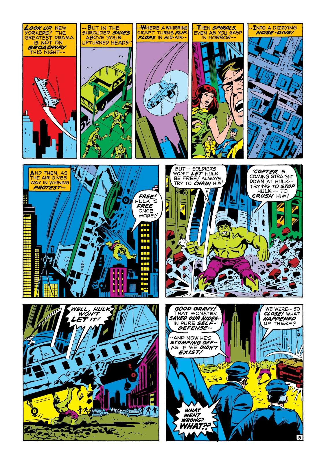 Read online Marvel Masterworks: The Incredible Hulk comic -  Issue # TPB 7 (Part 1) - 32