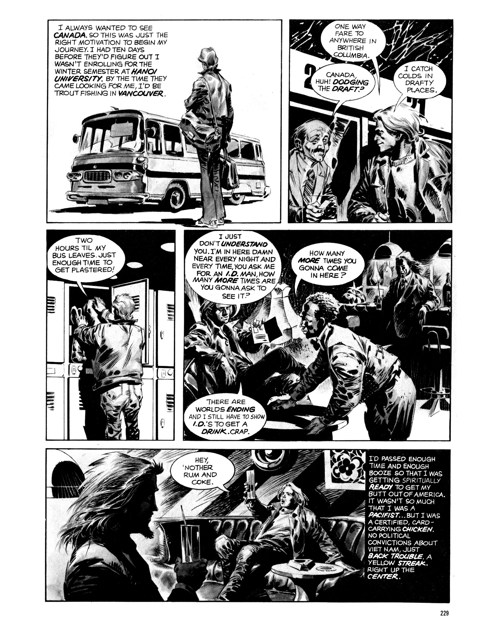 Read online Eerie Archives comic -  Issue # TPB 14 - 230