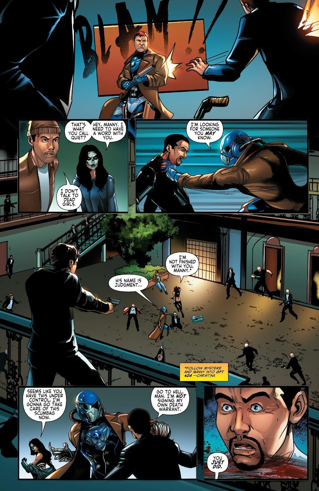 Read online Zodiac comic -  Issue #1 - 25