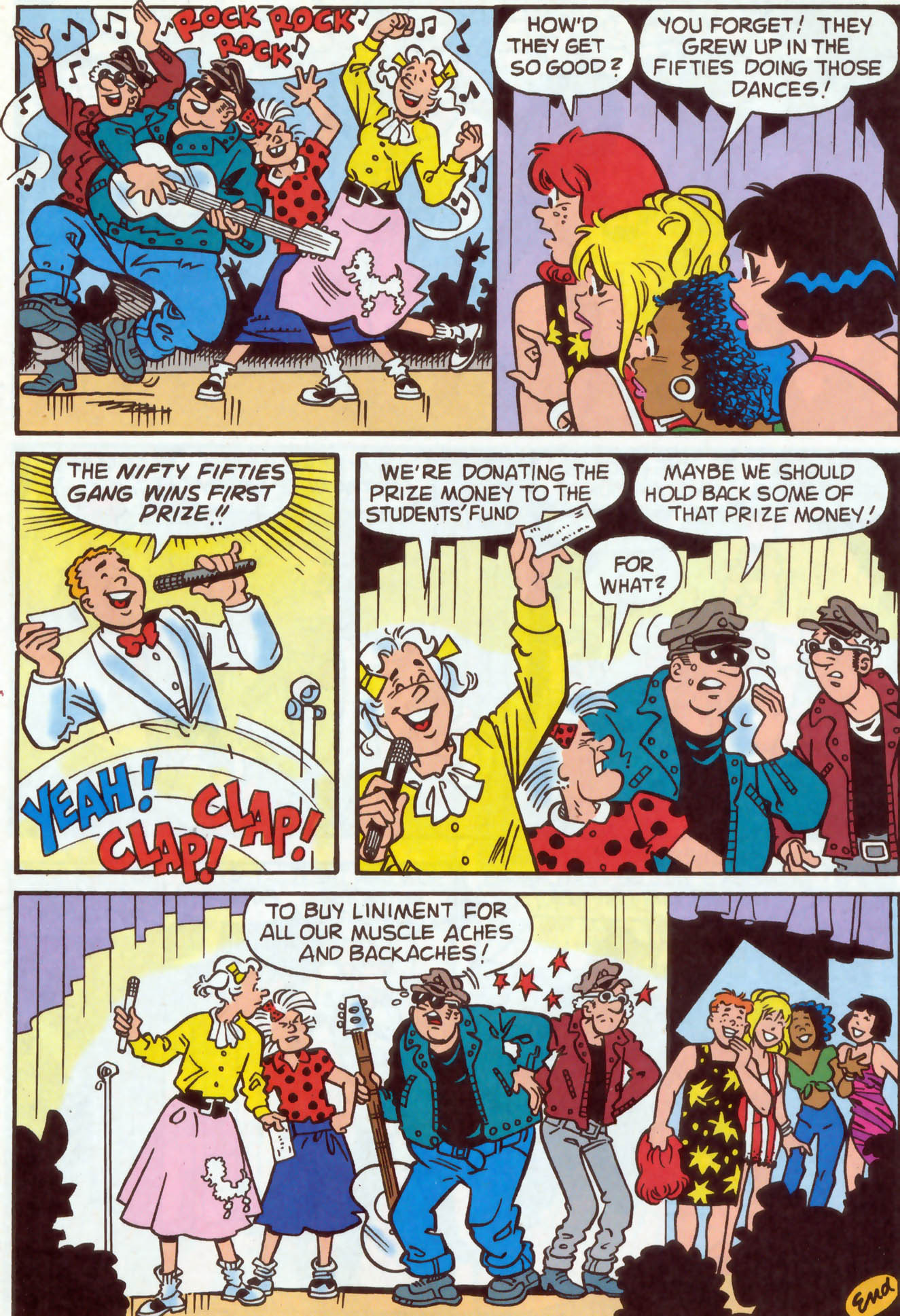 Read online Archie (1960) comic -  Issue #478 - 7