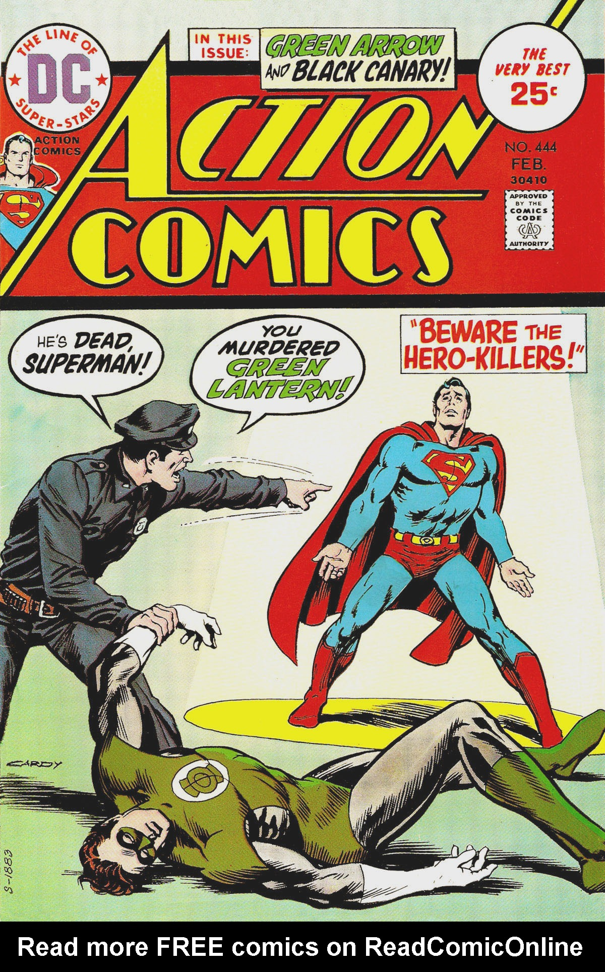 Read online Action Comics (1938) comic -  Issue #444 - 1