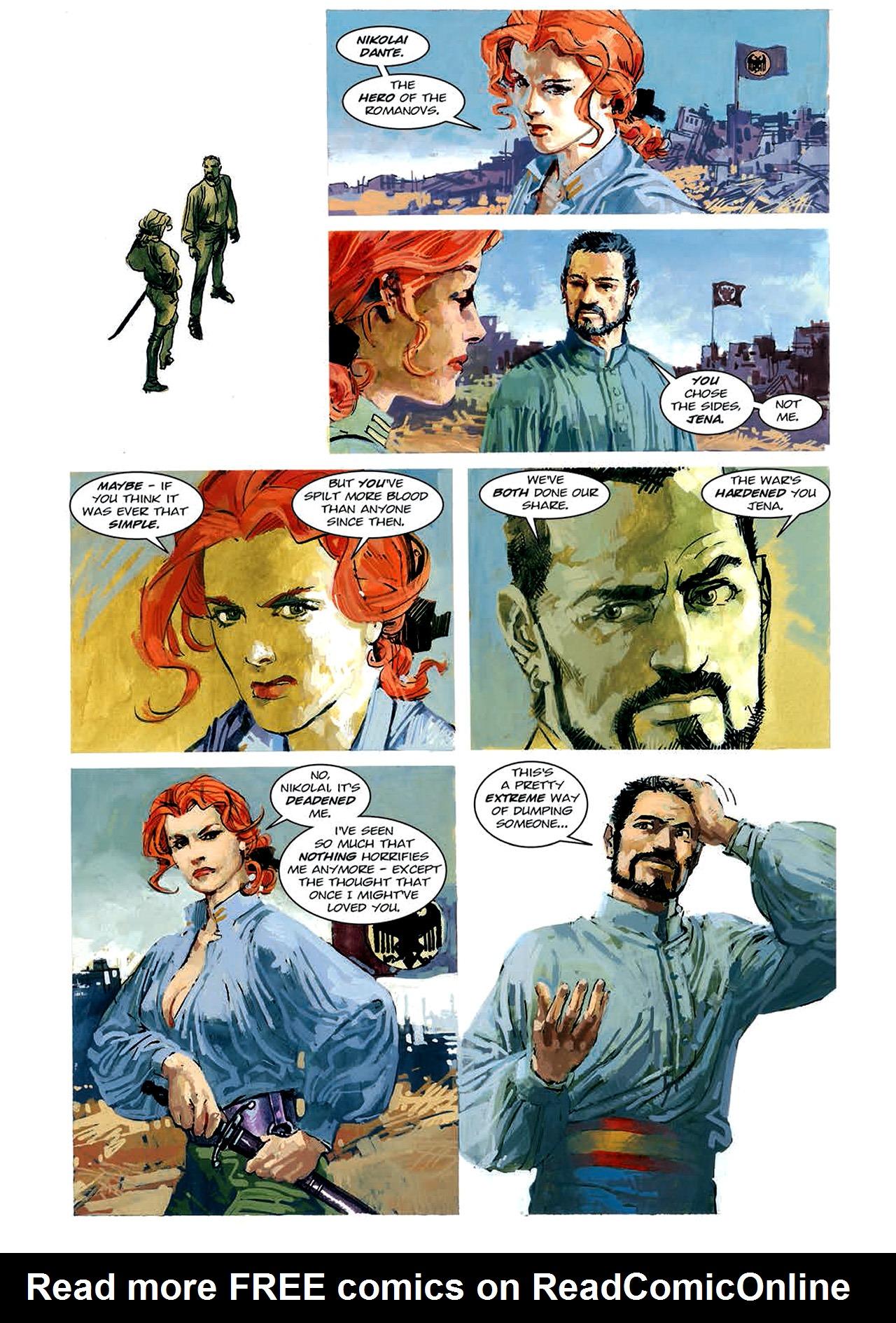 Read online Nikolai Dante comic -  Issue # TPB 4 - 90