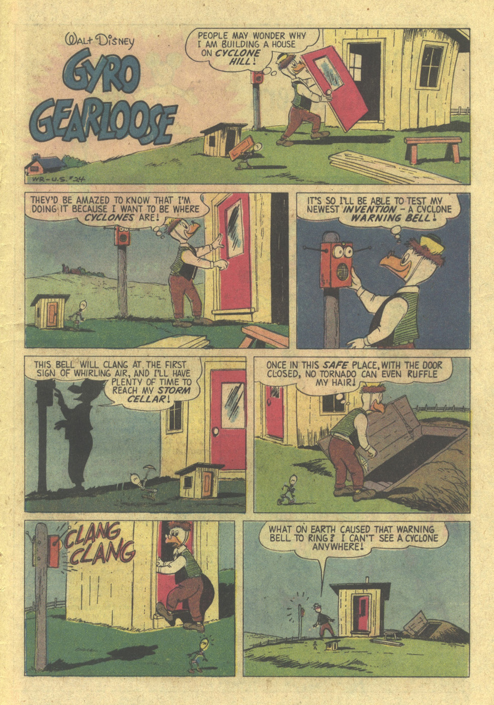 Read online Uncle Scrooge (1953) comic -  Issue #113 - 29