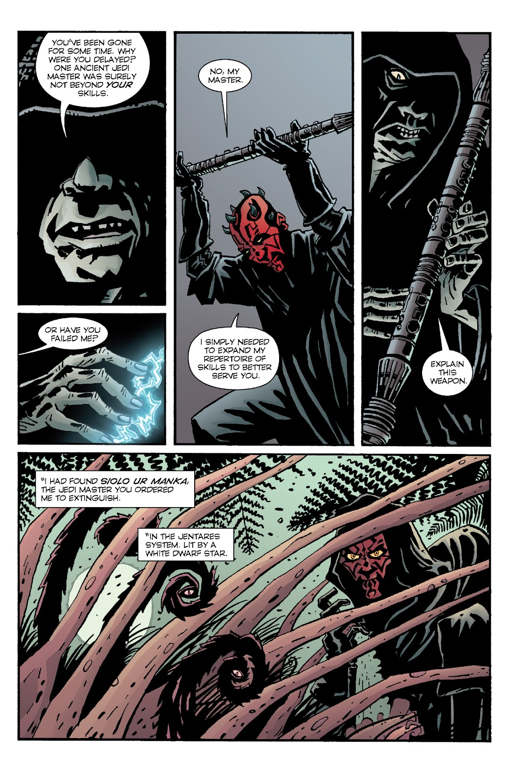 Read online Star Wars Legends: Rise of the Sith - Epic Collection comic -  Issue # TPB 1 (Part 4) - 47