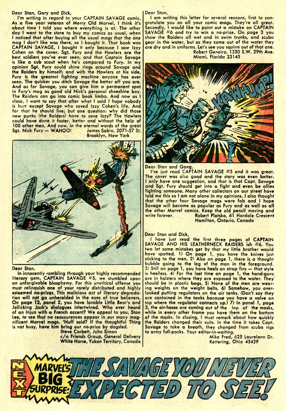 Captain Savage and his Leatherneck Raiders issue 8 - Page 33