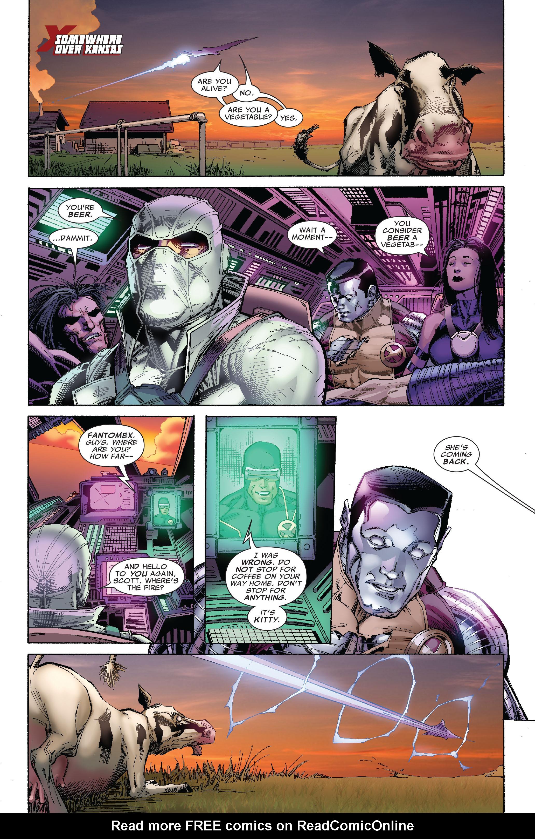 Read online Uncanny X-Men (1963) comic -  Issue #522 - 10