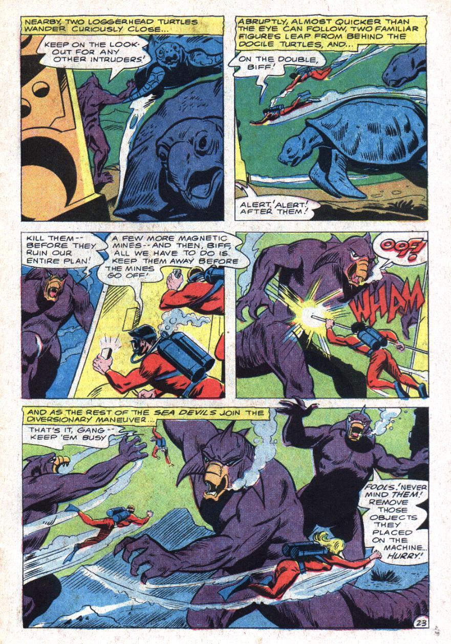 Read online Sea Devils comic -  Issue #35 - 32