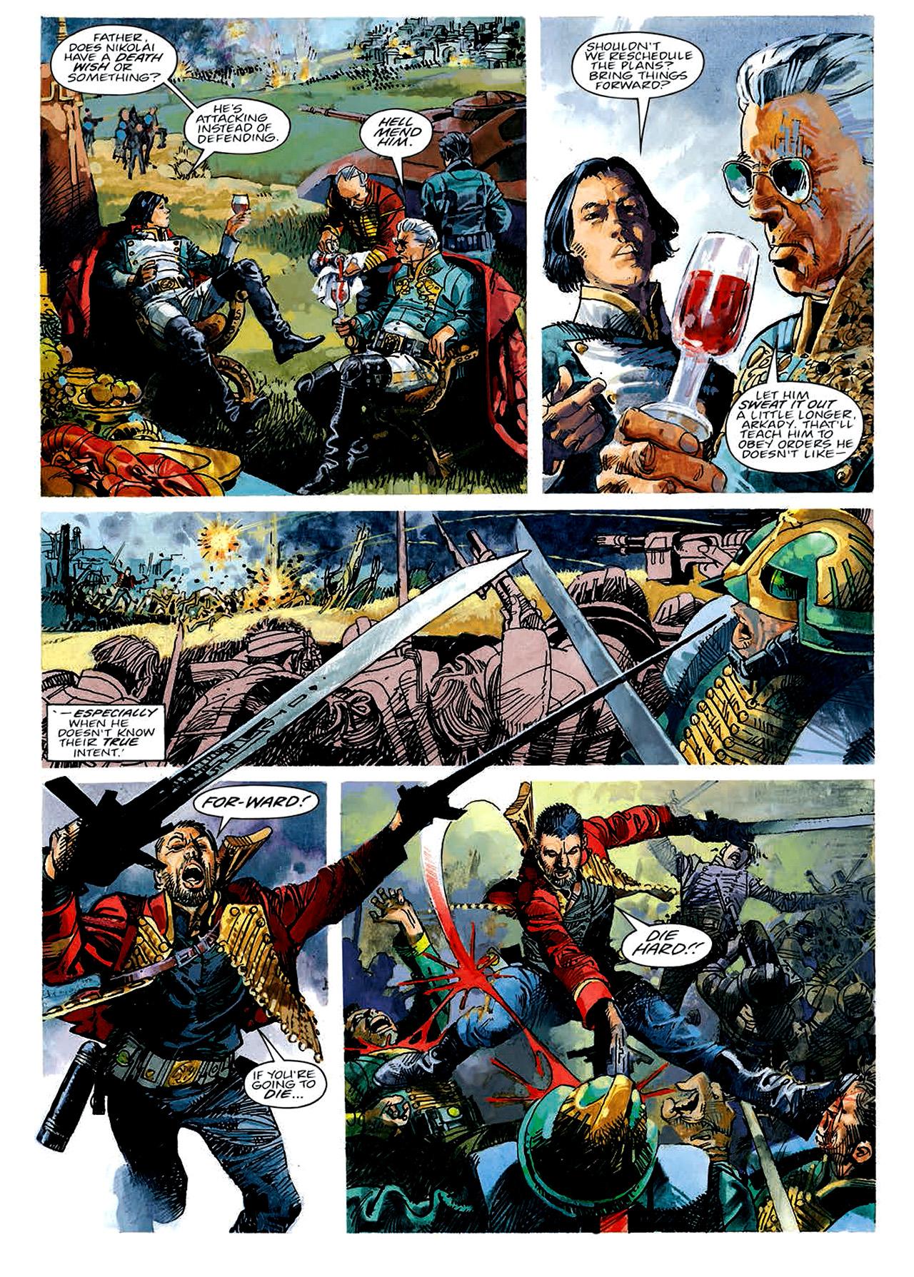 Read online Nikolai Dante comic -  Issue # TPB 4 - 11