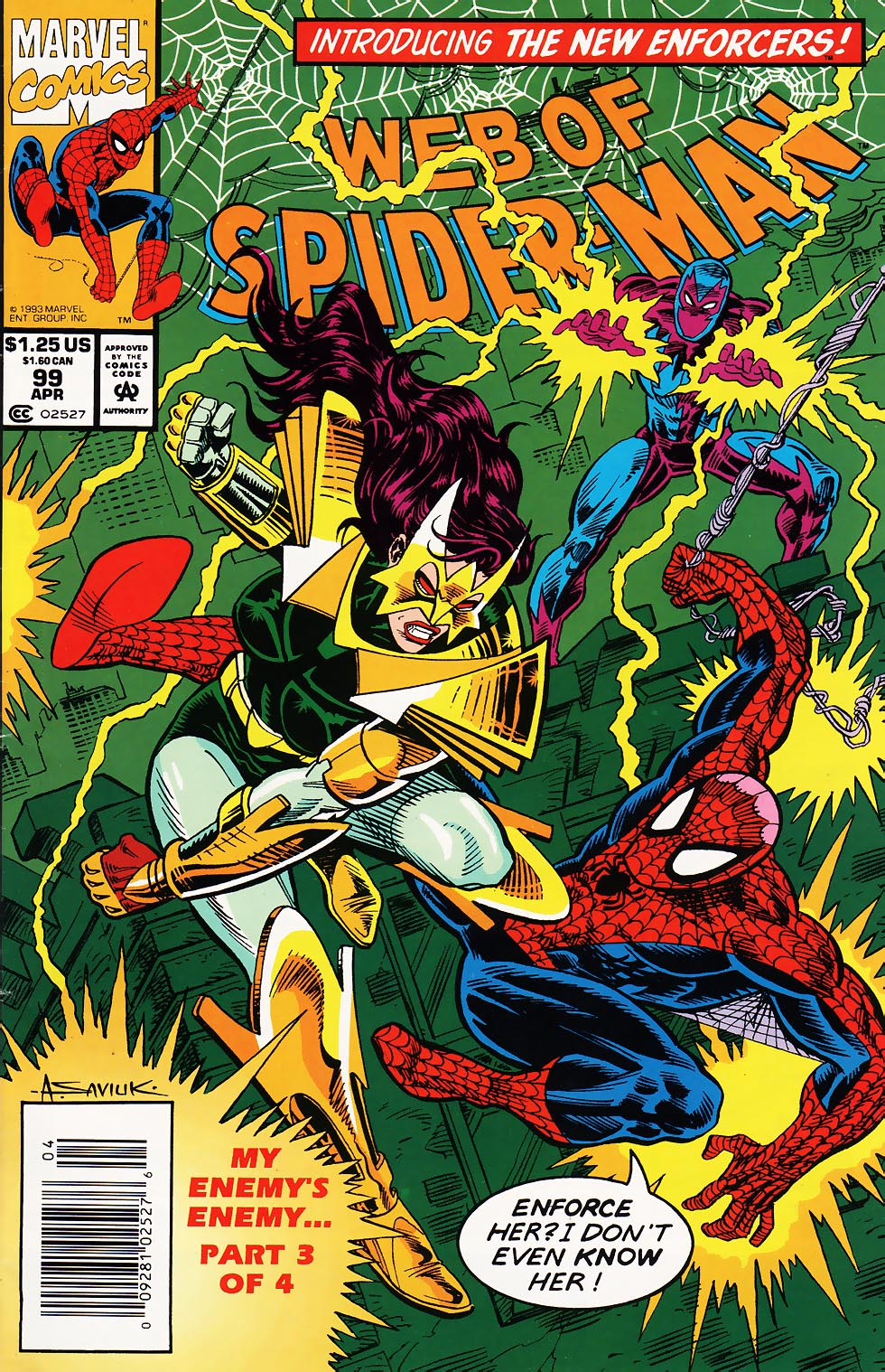 Web of Spider-Man (1985) 99 Page 1