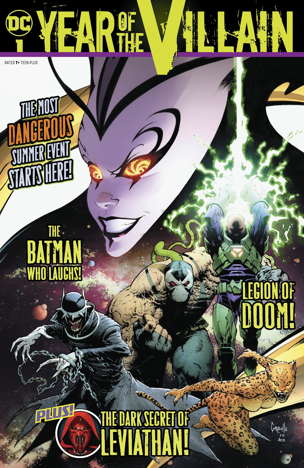 Read online DC's Year of the Villain Special comic -  Issue # Full - 1