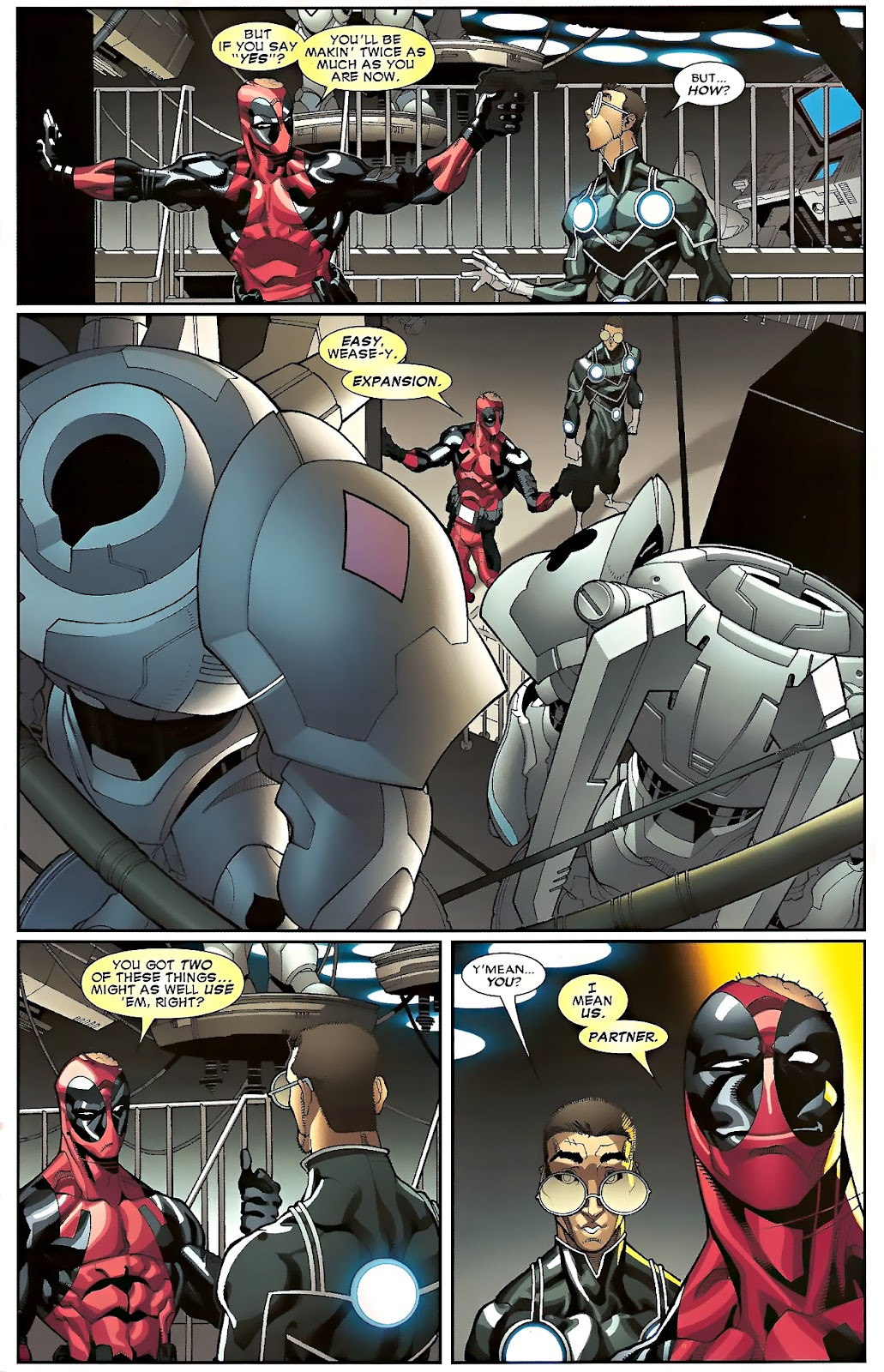 Read online Deadpool (2008) comic -  Issue #23 - 18