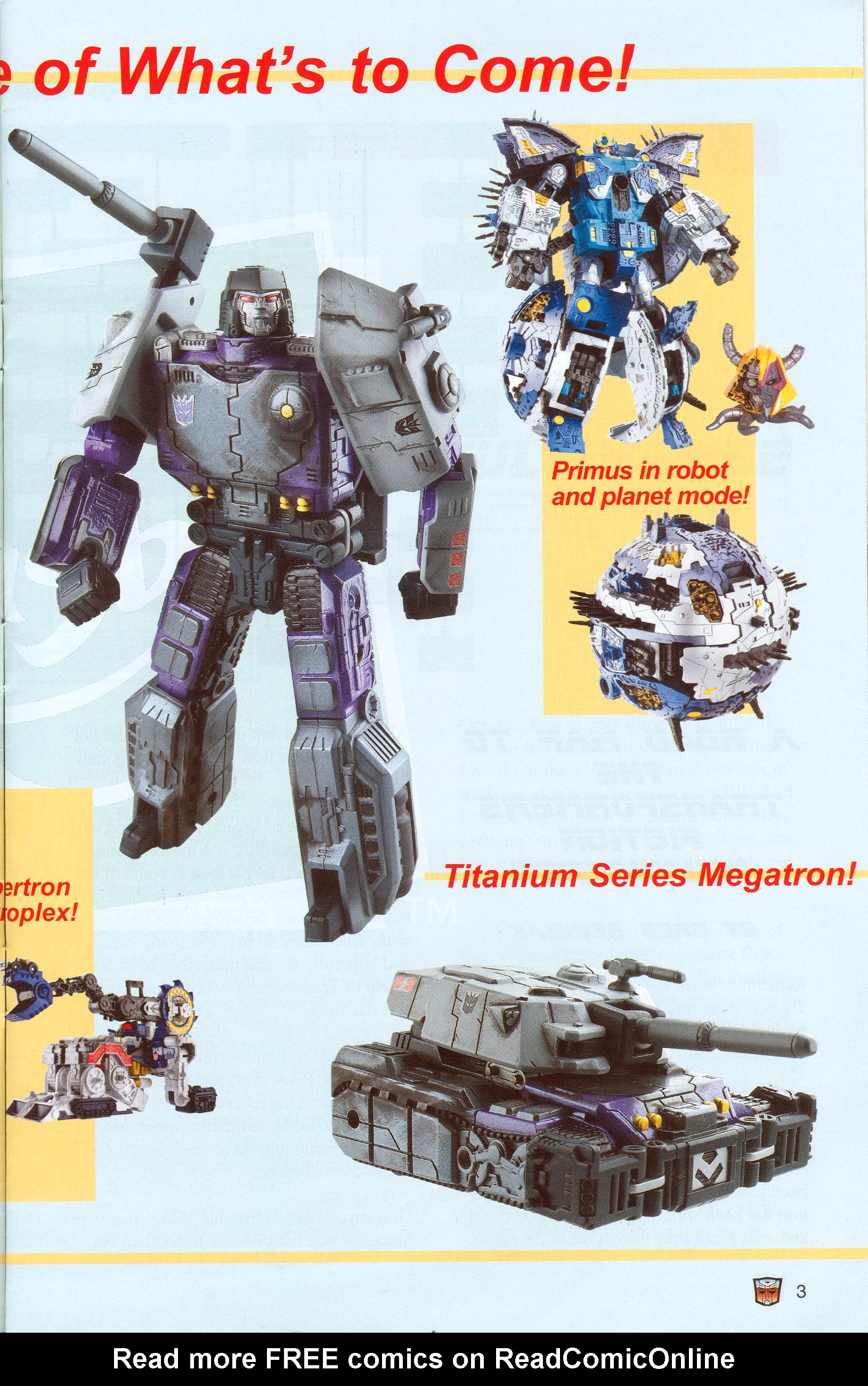 Read online Transformers: Collectors' Club comic -  Issue #8 - 3