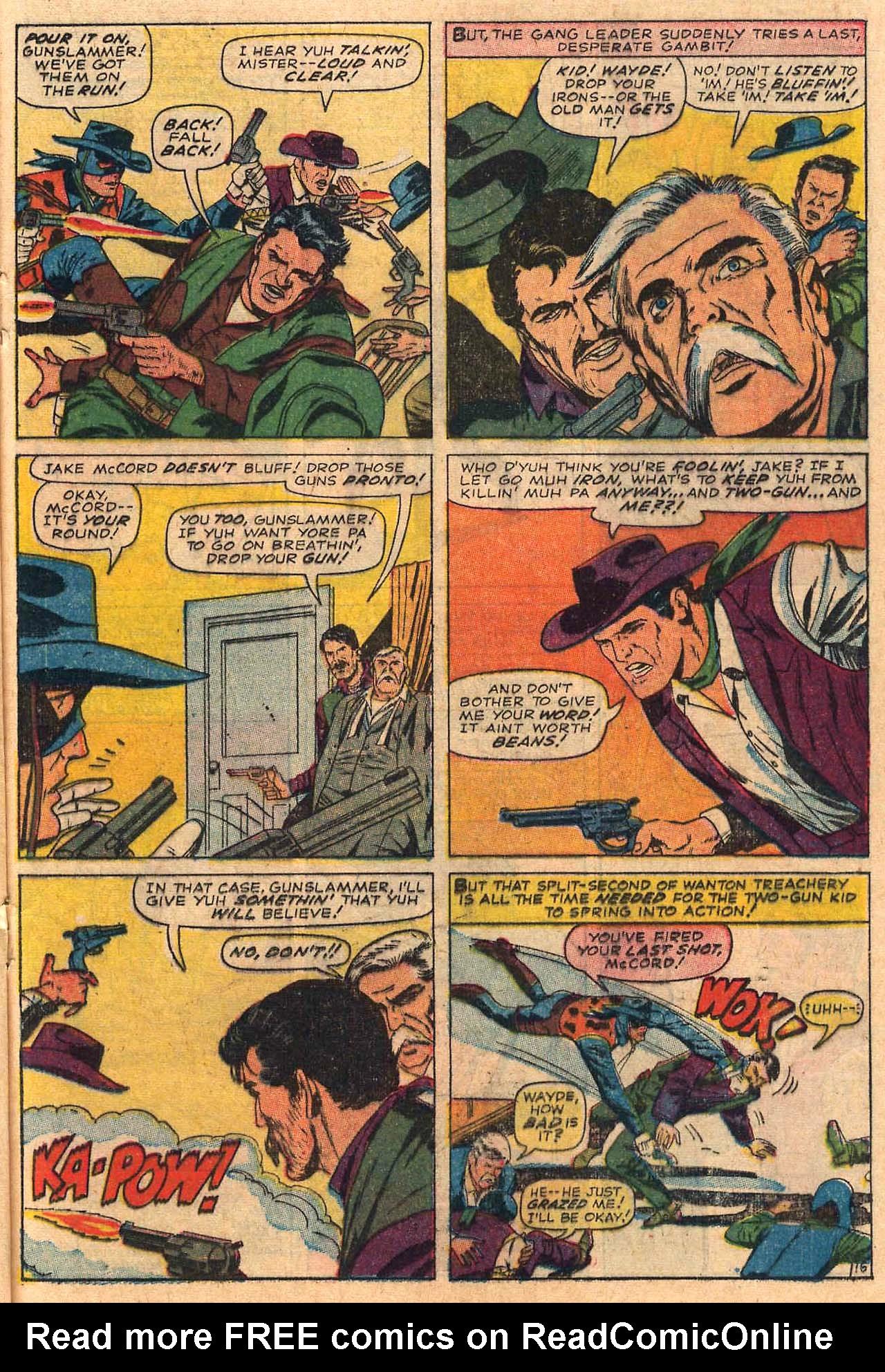 Read online Two-Gun Kid comic -  Issue #84 - 21