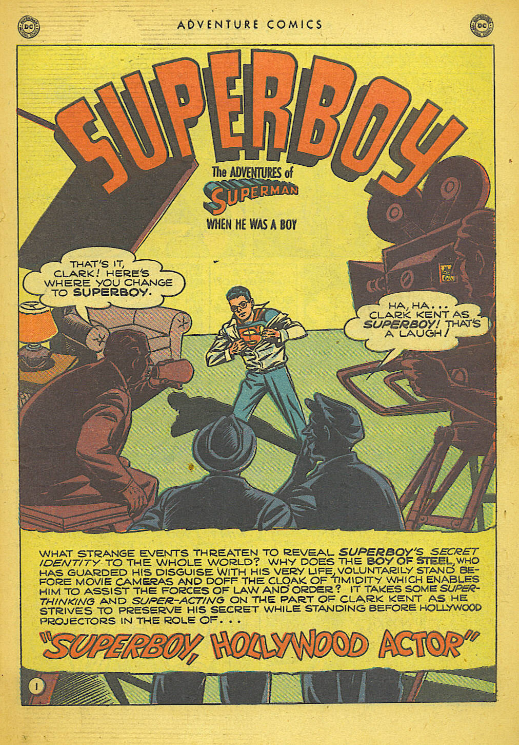 Read online Adventure Comics (1938) comic -  Issue #155 - 3