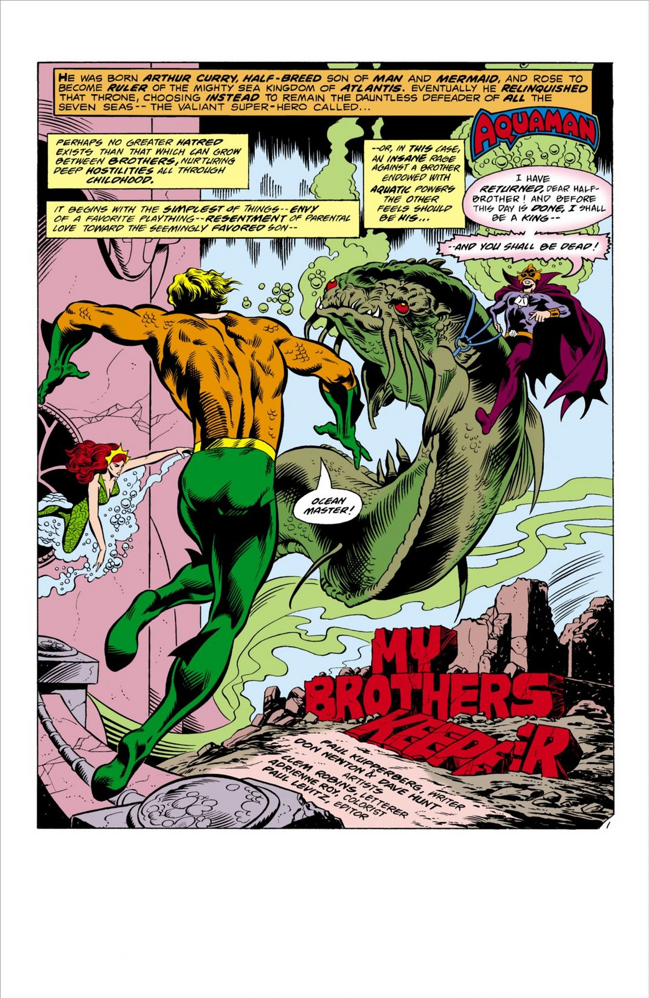 Read online Aquaman (1962) comic -  Issue #63 - 2