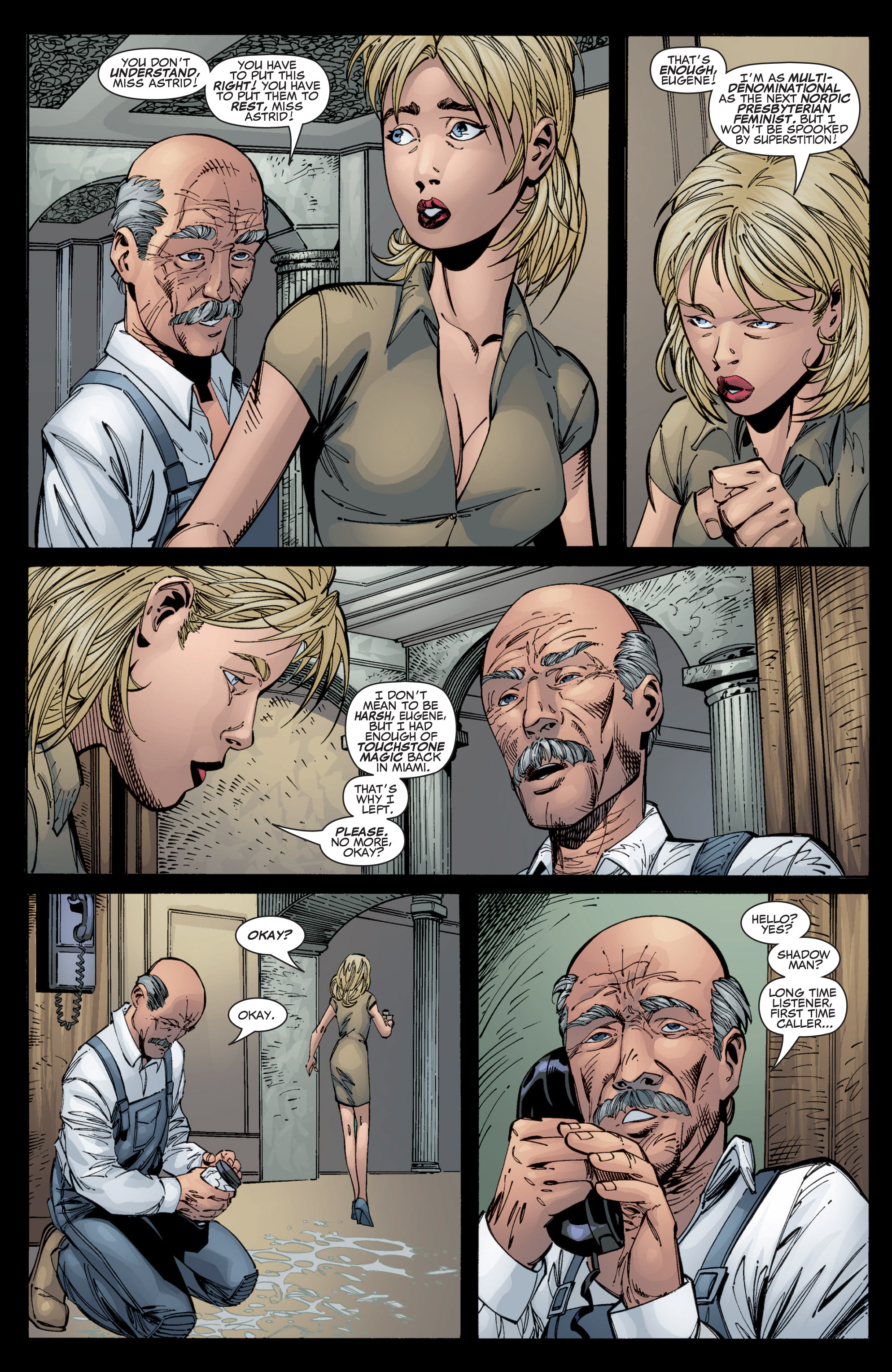 Read online Shadowman (1999) comic -  Issue #1 - 23