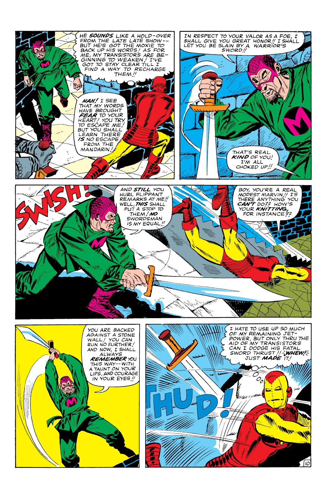 Read online Marvel Masterworks: The Invincible Iron Man comic -  Issue # TPB 2 (Part 1) - 56