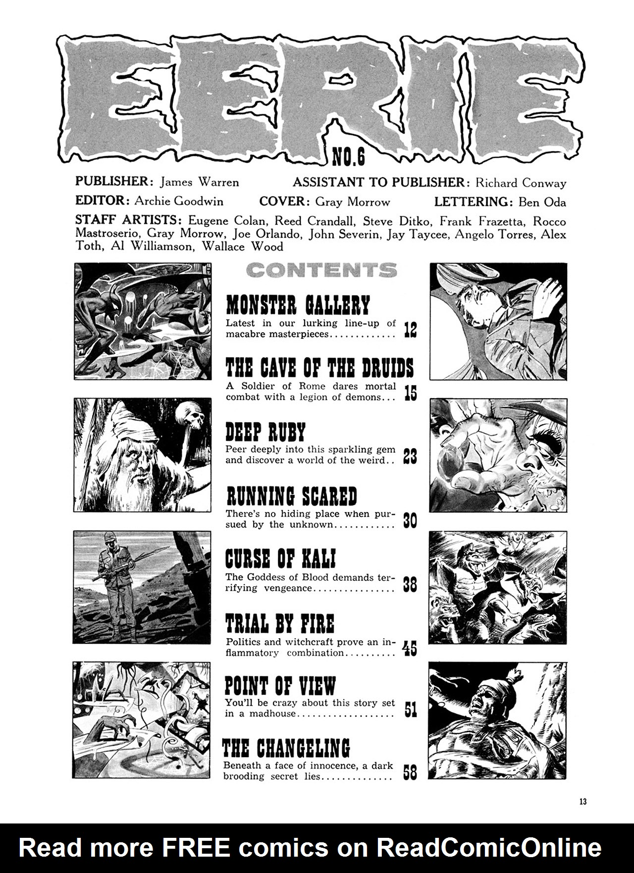 Read online Eerie Archives comic -  Issue # TPB 2 - 14