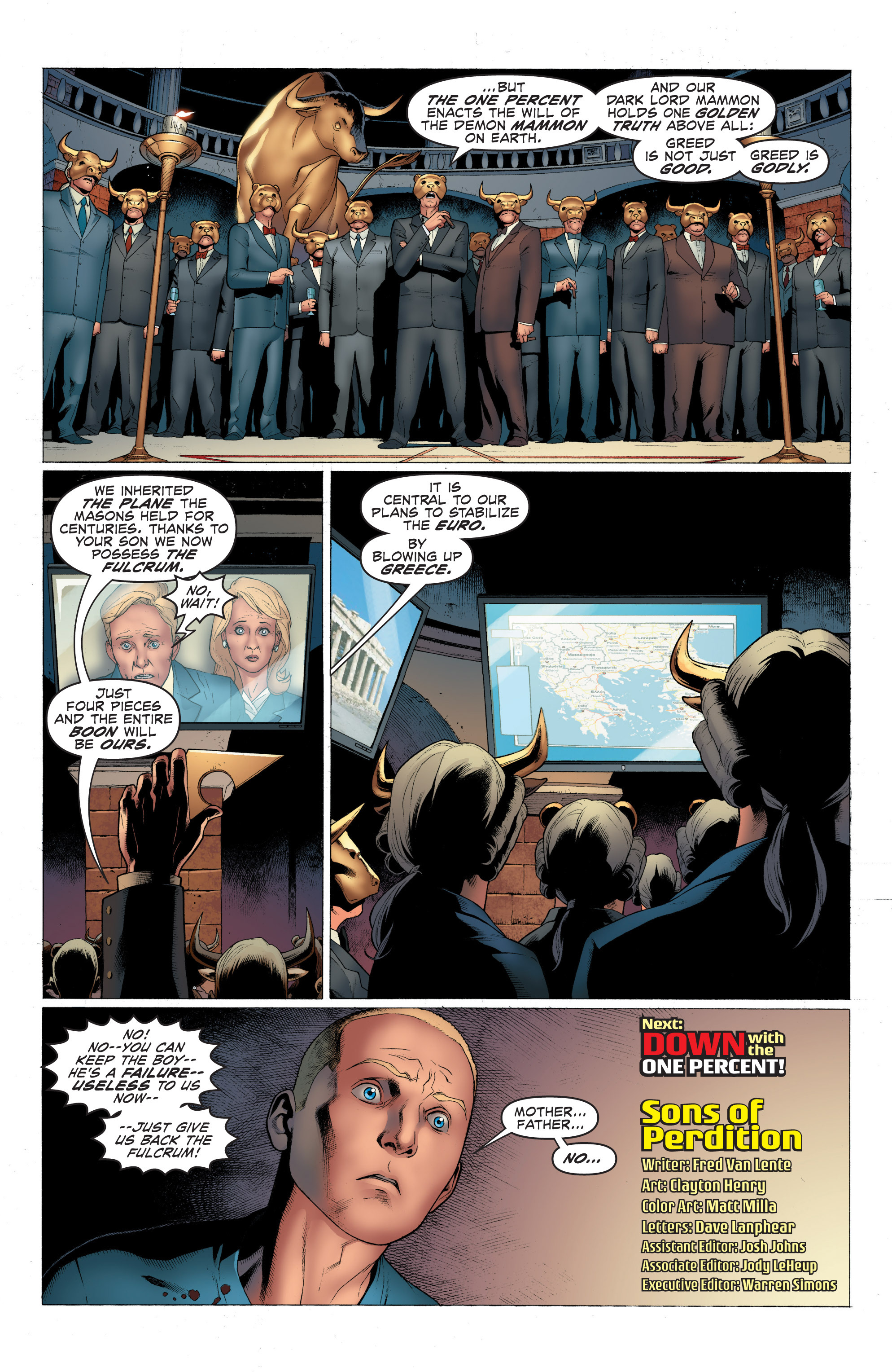 Read online Archer and Armstrong comic -  Issue #Archer and Armstrong _TPB 1 - 29